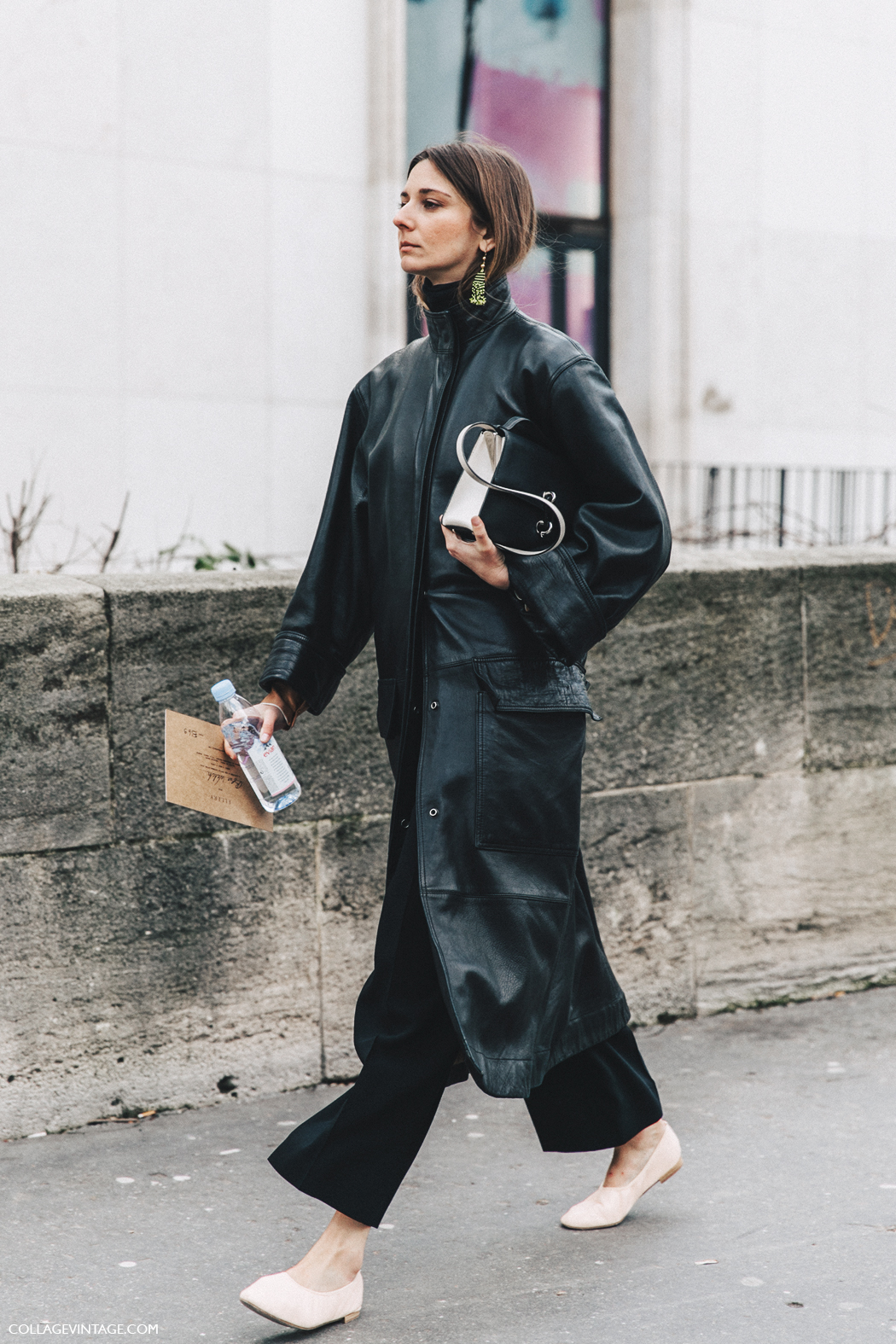 PFW-Paris_Fashion_Week_Fall_2016-Street_Style-Collage_Vintage-Leather-BLack-Brie_Welch-