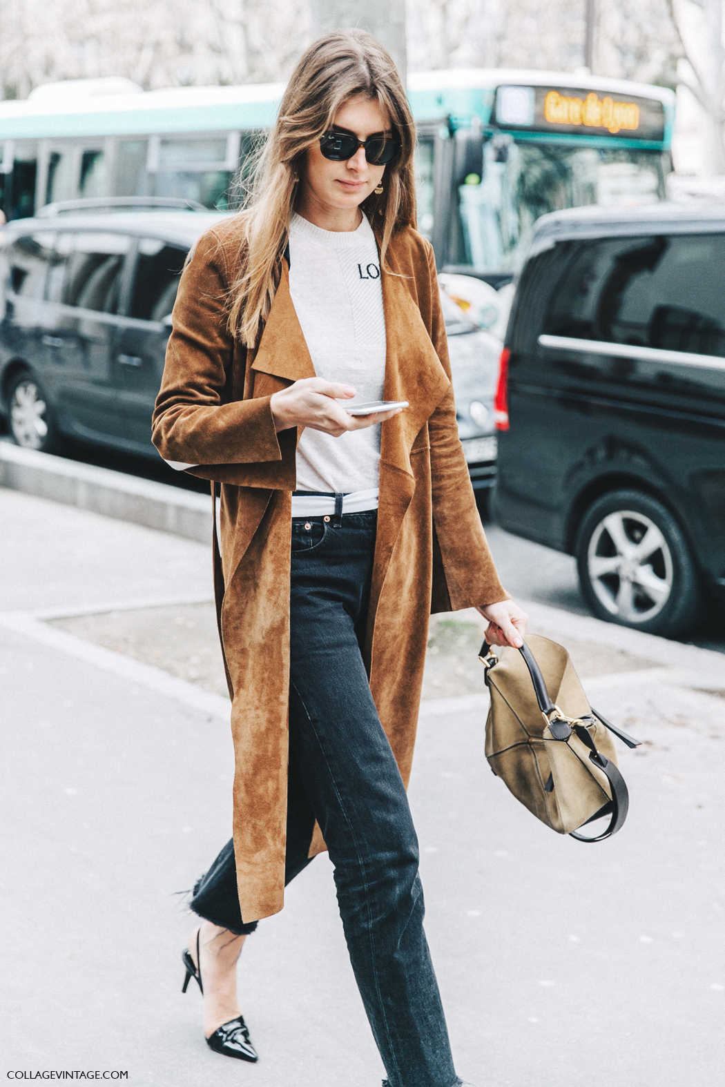 PFW-Paris_Fashion_Week_Fall_2016-Street_Style-Collage_Vintage-Loewe_Top-Suede_Trench-2