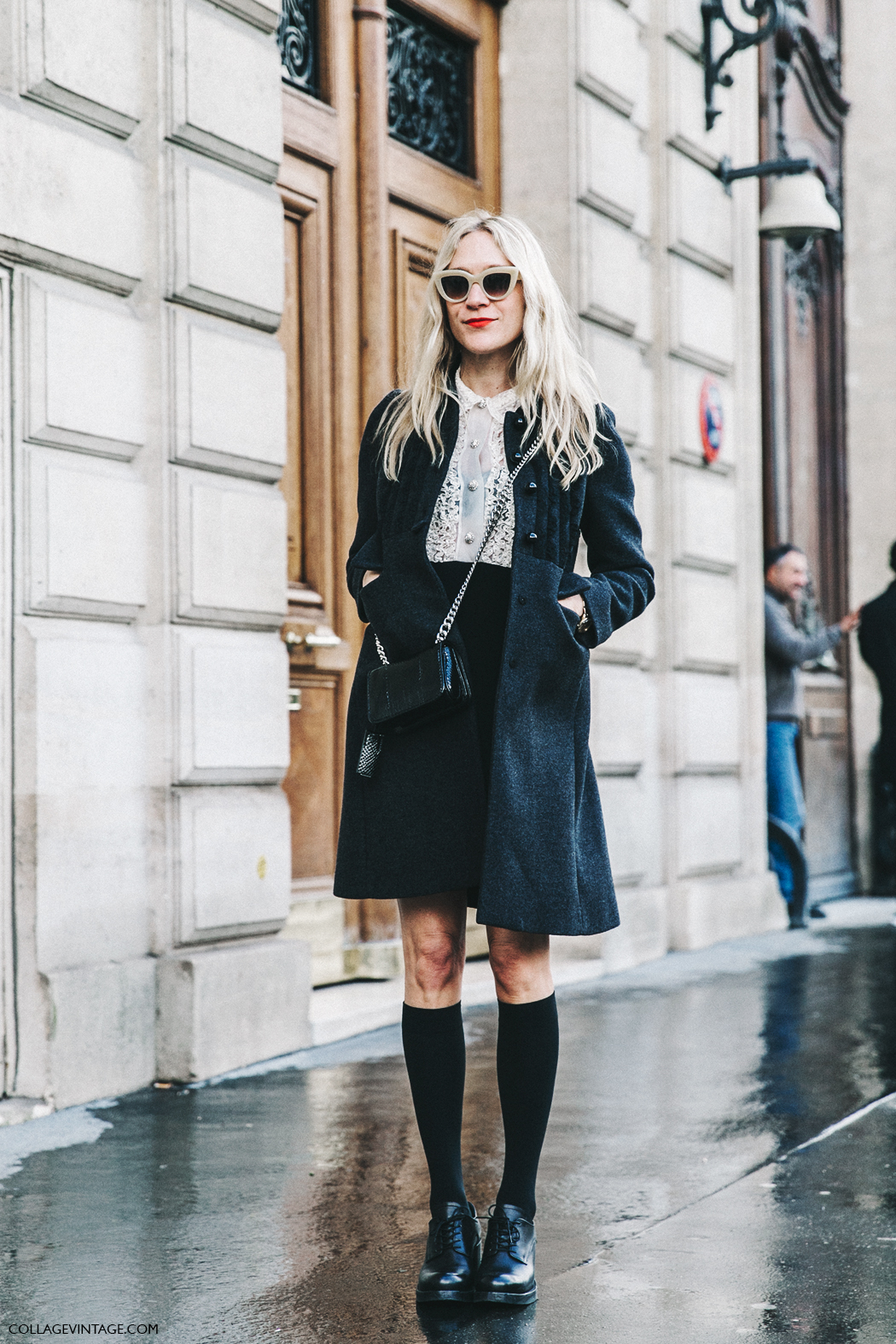 PFW-Paris_Fashion_Week_Fall_2016-Street_Style-Collage_Vintage-Miu_Miu-Chloe_Sevigny-Socks-13