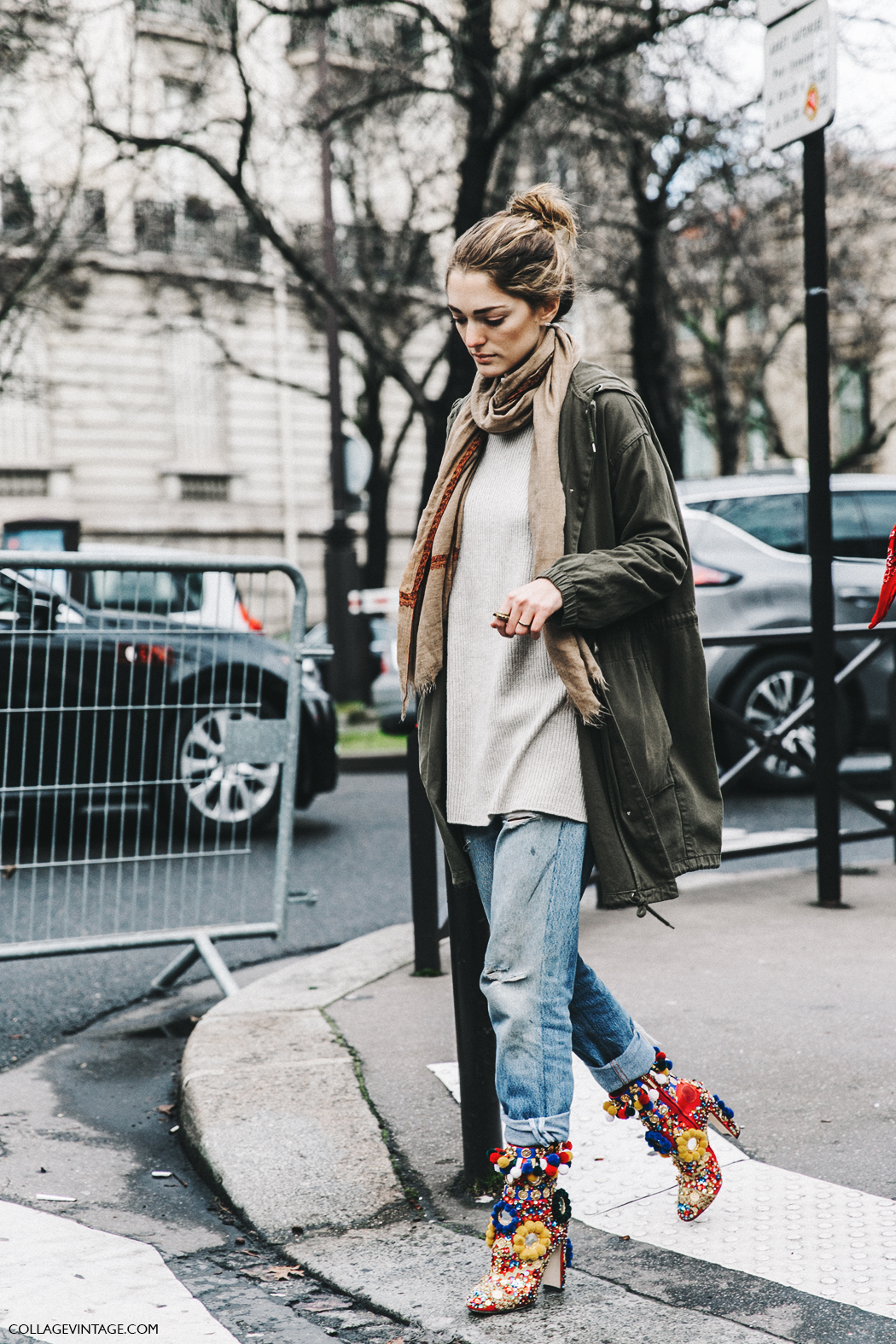 Street Style At London Fashion Week With Anouk: Street Style PFW VIII