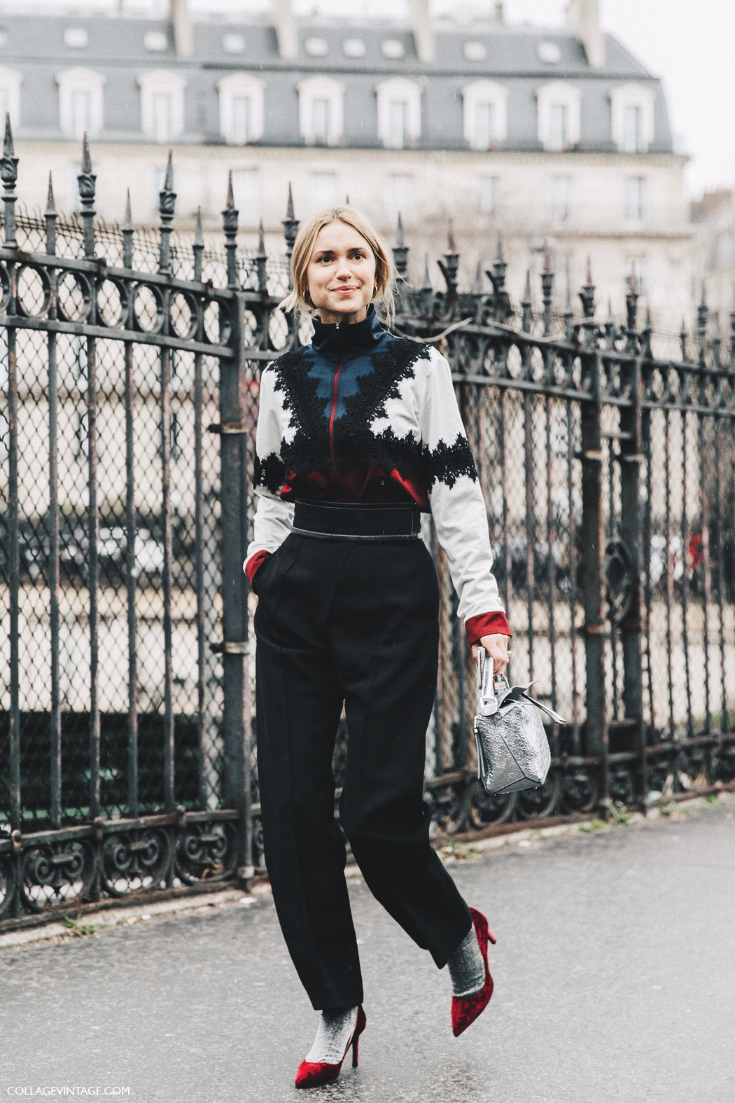 PFW-Paris_Fashion_Week_Fall_2016-Street_Style-Collage_Vintage-Pernille_Teisbaek-Loewe_Bag-2