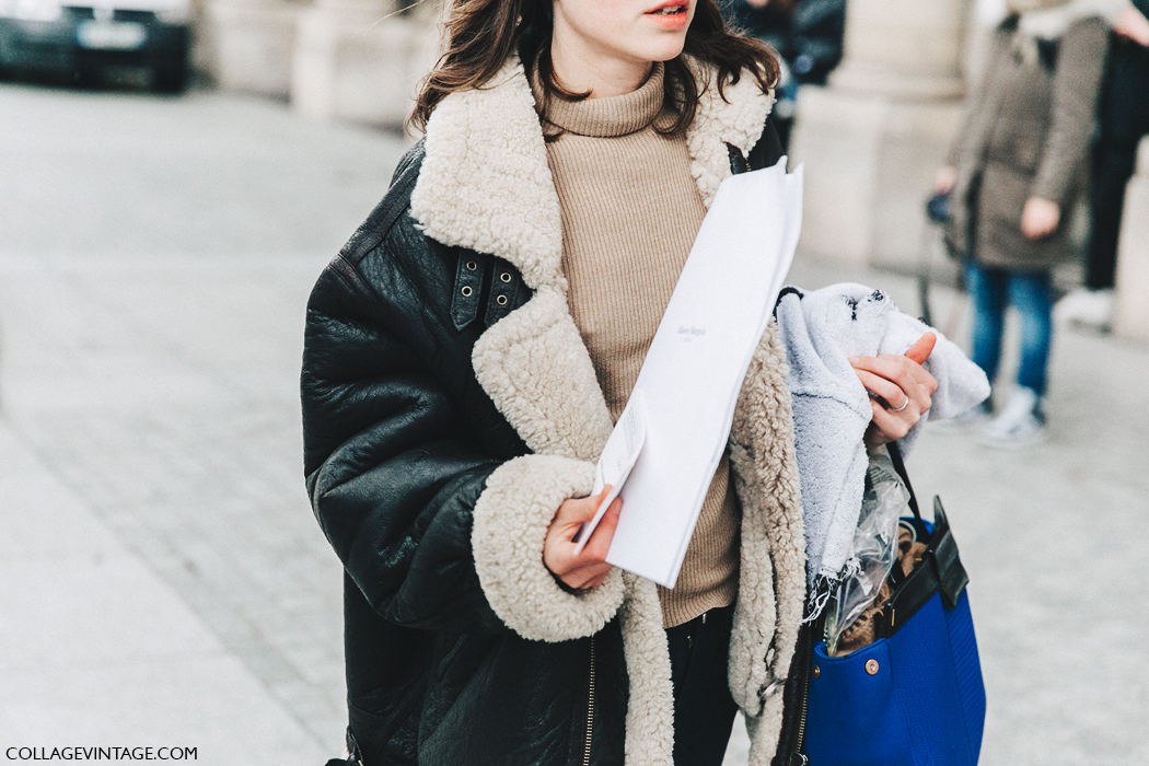PFW-Paris_Fashion_Week_Fall_2016-Street_Style-Collage_Vintage-Shearling_Jacket-