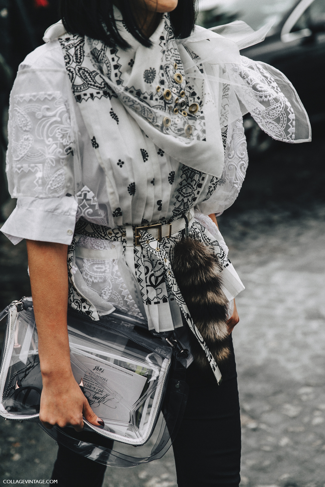 PFW-Paris_Fashion_Week_Fall_2016-Street_Style-Collage_Vintage-Stella_McCartney-Bandana-