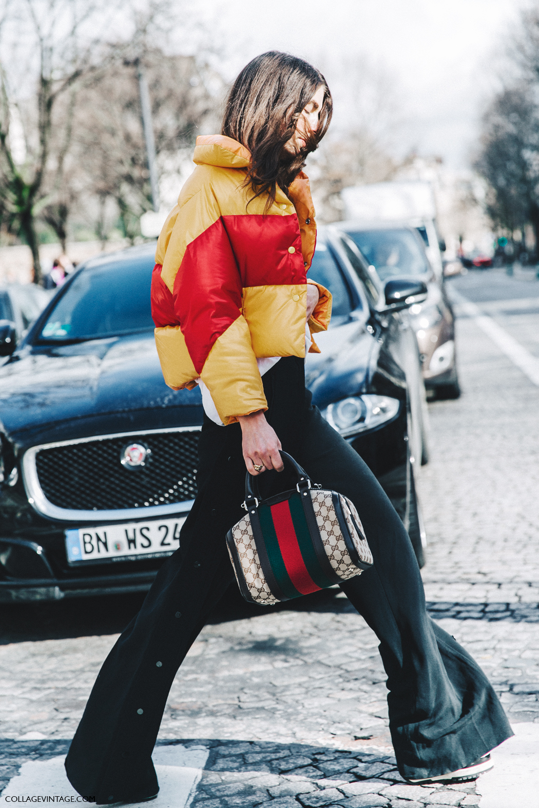 PFW-Paris_Fashion_Week_Fall_2016-Street_Style-Collage_Vintage-Ursina_Gisy-Gucci-Bomber-