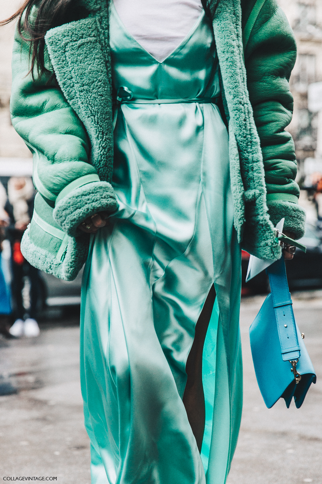 PFW-Paris_Fashion_Week_Fall_2016-Street_Style-Collage_Vintage-gilda_Abrossio-The_Attico_Dress-2