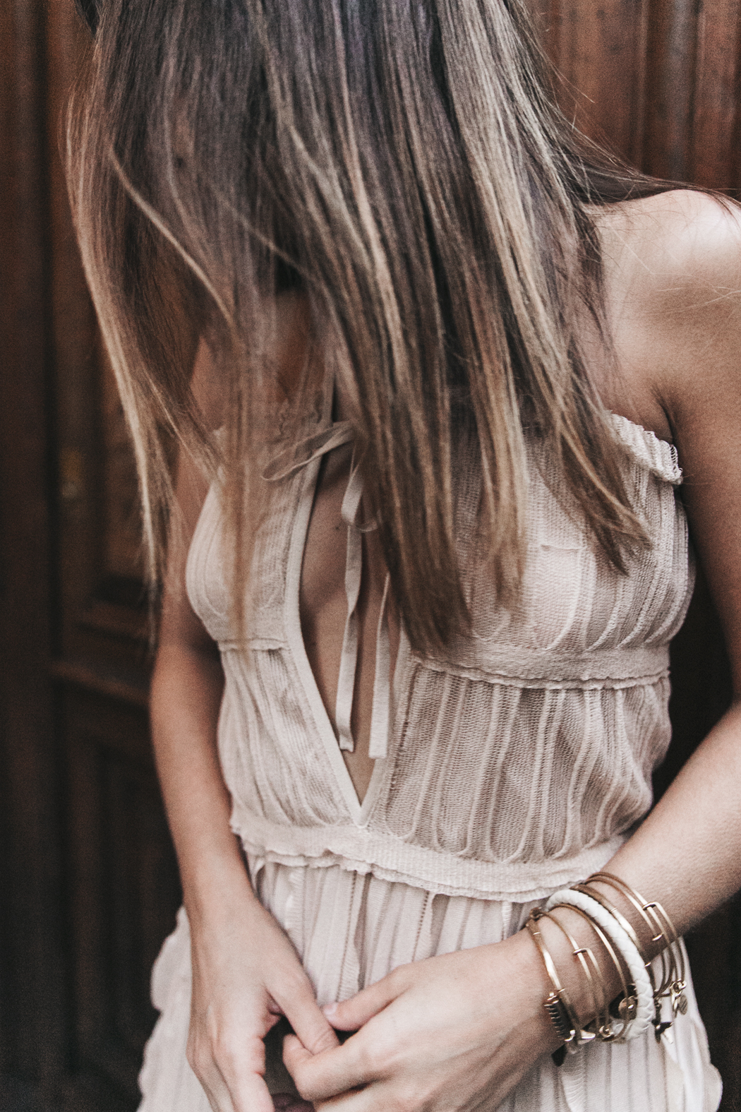 Salvatore_Ferragamo-Edgardo_Osorio_for_Ferragamo_Shoes_Collection-Nude_Dress-Dot_Sandals-Outfit-Collage_Vintage-26