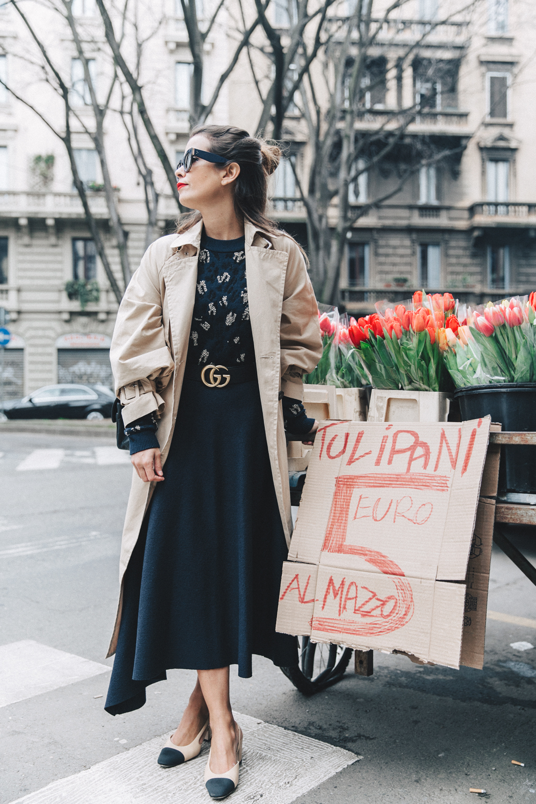 Trench_Edited-Leopard_Sweater-Midi_Skirt-Chanel_Slingback_Shoes-Chanel_Vintage_Bag-Ouftit_Streetstyle-7