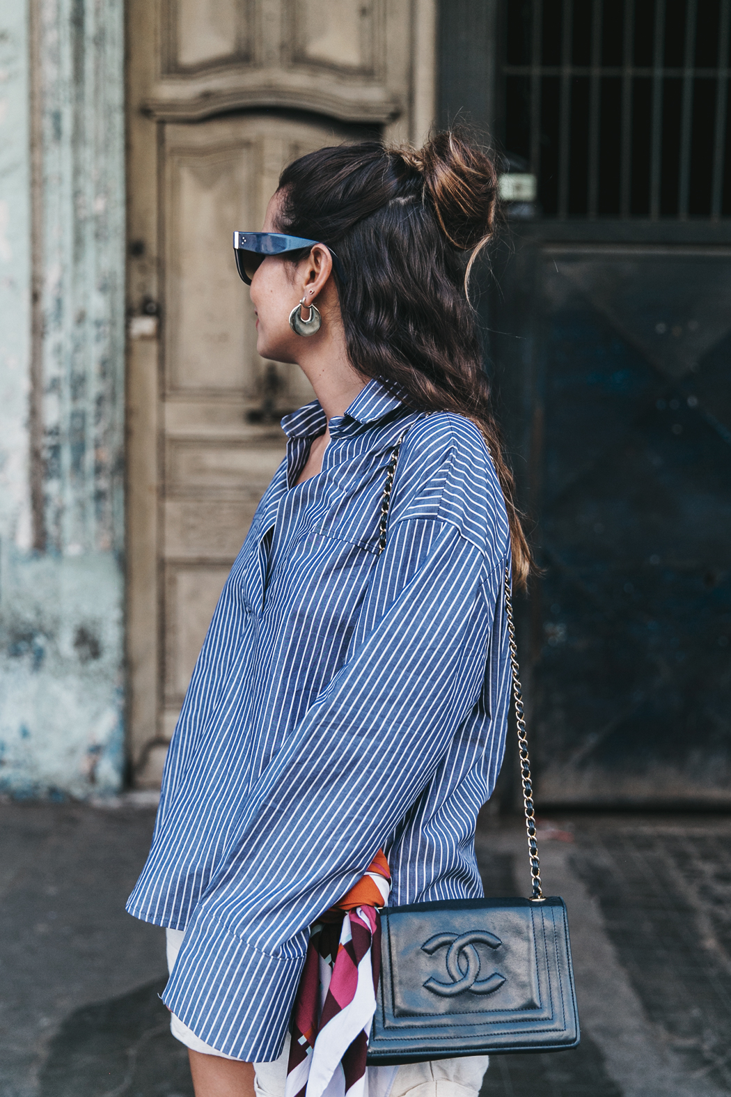 Cuba_La_habana-Striped_Blouse-Isabel_Marant_Shoes-Vintage_Chanel-Outfit-StreetStyle-