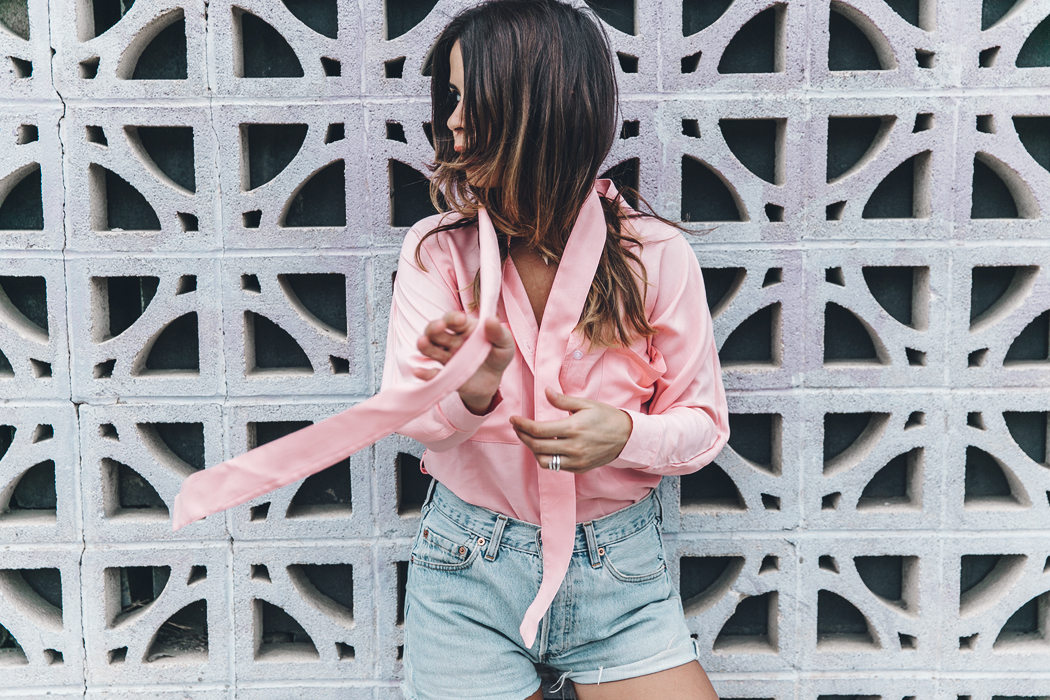Goodnight_Macaroon-Levis_VIntage-Checked_Blouse-Pink_Shirt-Red_Heels-Marni_Sandals-Dallas-126