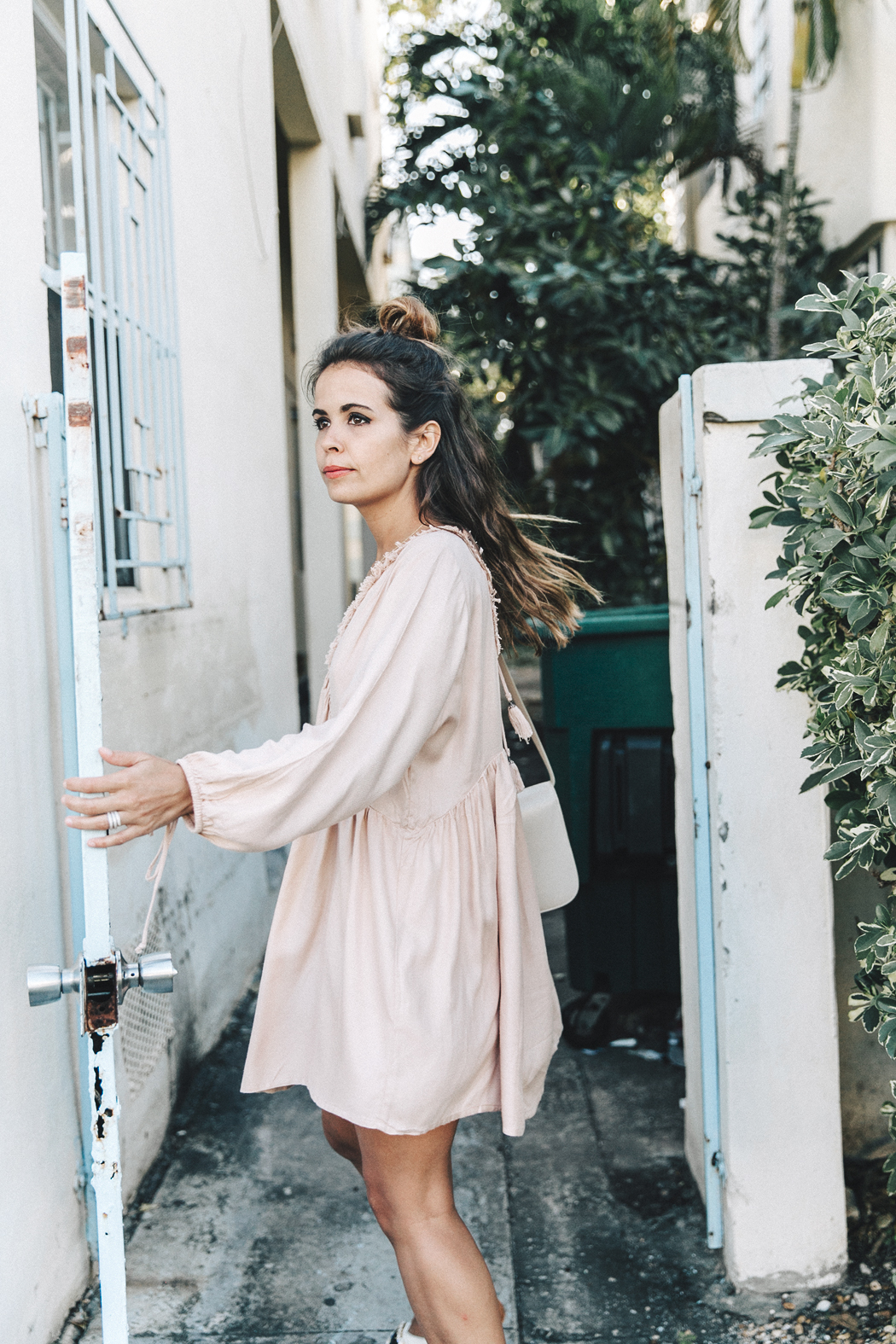 Miami-Pink_Dress-Marni_Sandals-Outfit-Collage_On_The_Road-Street_Style-15