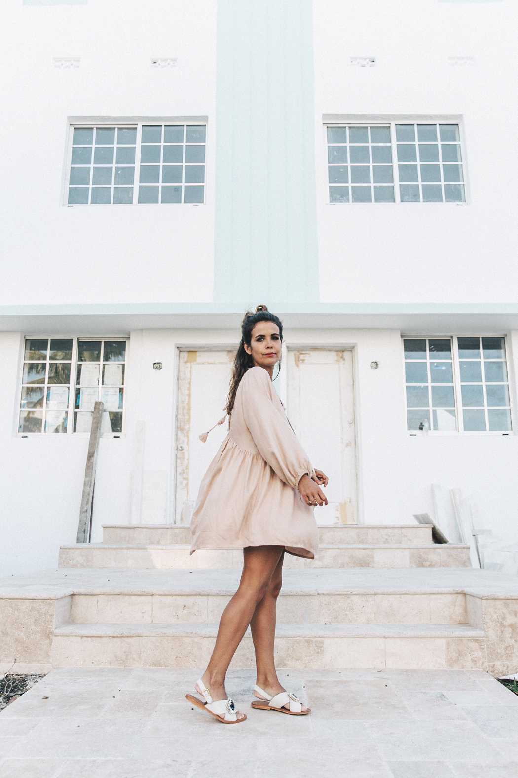 Miami-Pink_Dress-Marni_Sandals-Outfit-Collage_On_The_Road-Street_Style-29