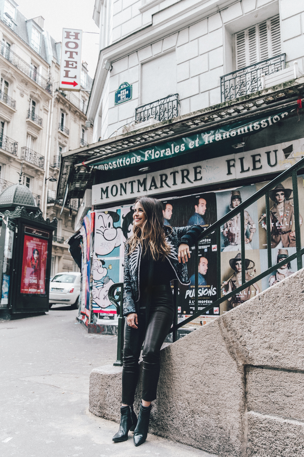 Montmartre-Moulin_Rouge-Zadig_Voltiere-Sequins_Jacket-Leather_Trousers-Outfit-Paris-Street_Style-27