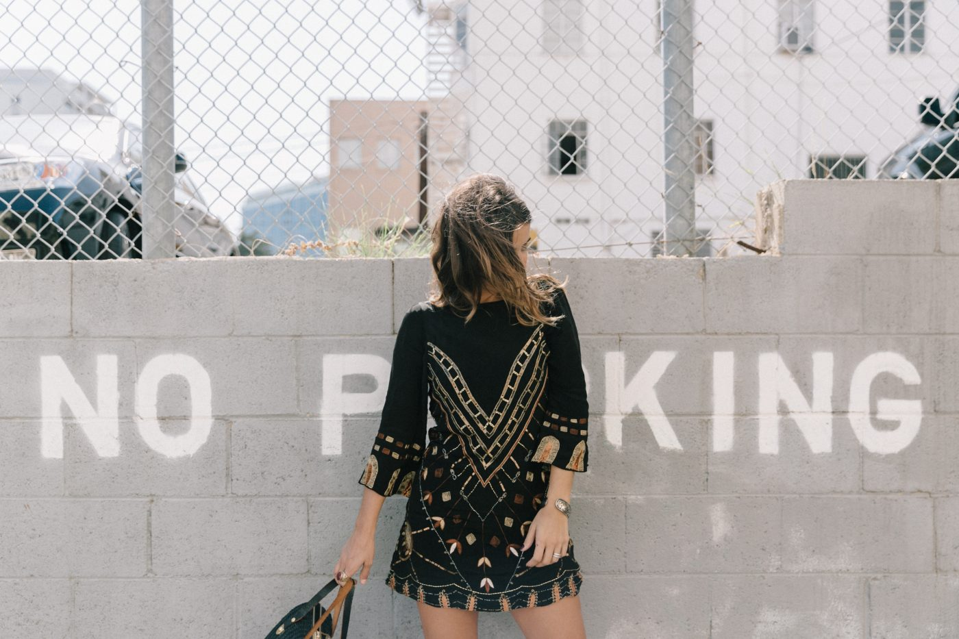 Boho_Dress-Jens_Pirate_Booty-Black_Beaded_Dress-Lace_Up_Sandals-Los_Angeles-Outfit-Collage_Vintage-27