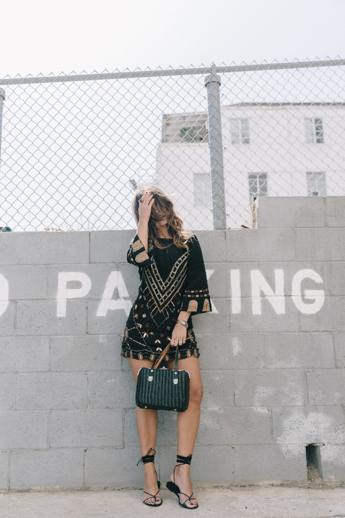 Boho_Dress-Jens_Pirate_Booty-Black_Beaded_Dress-Lace_Up_Sandals-Los_Angeles-Outfit-Collage_Vintage-50