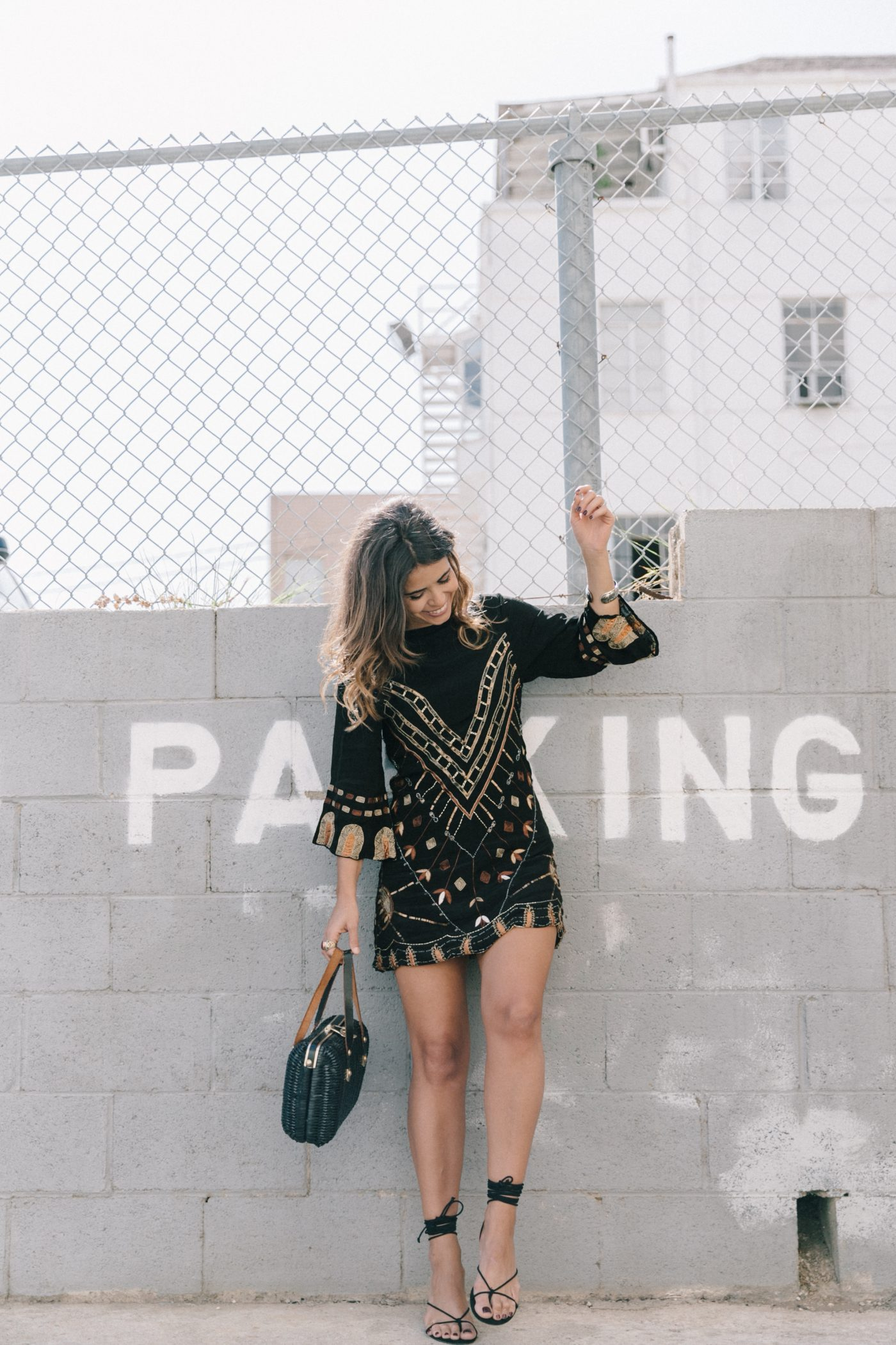 Boho_Dress-Jens_Pirate_Booty-Black_Beaded_Dress-Lace_Up_Sandals-Los_Angeles-Outfit-Collage_Vintage-76