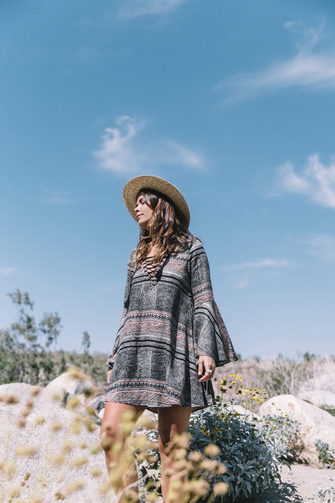 Boho_Dress-Lace_Up_Dress-Lack_of_Color-Revolve_Clothing-Straw_Hat-Soludos_Espadrilles-Palm_Springs-Outfit-Collage_Vintage-42