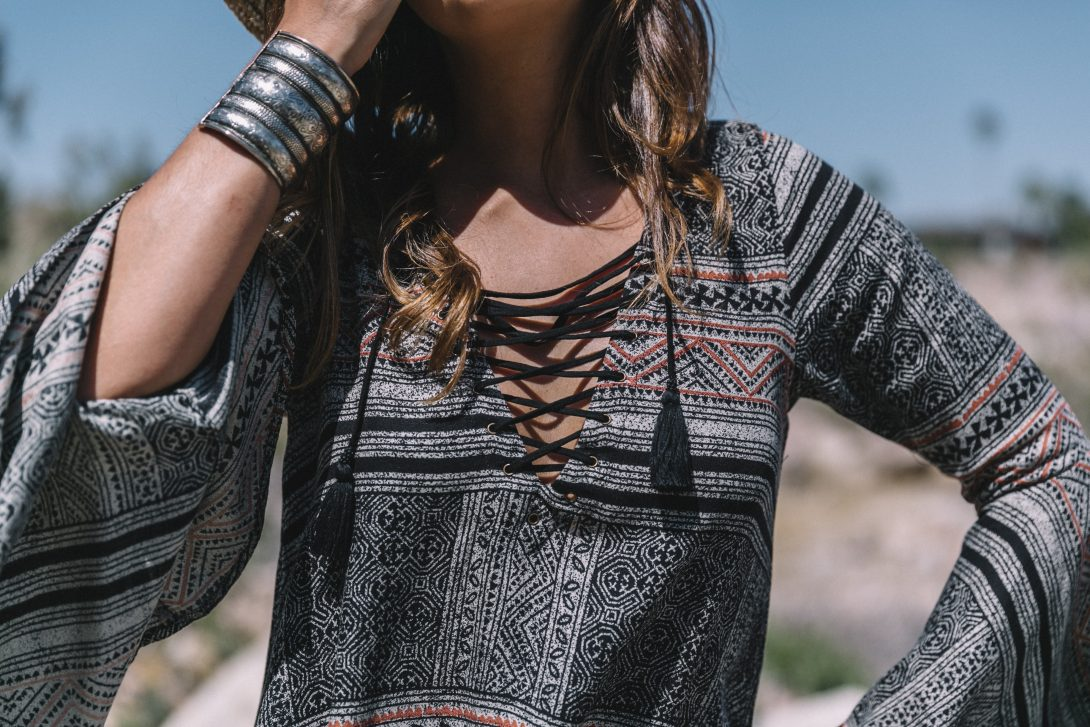 Boho_Dress-Lace_Up_Dress-Lack_of_Color-Revolve_Clothing-Straw_Hat-Soludos_Espadrilles-Palm_Springs-Outfit-Collage_Vintage-48