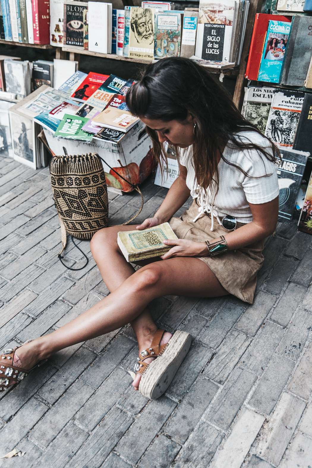 Cuba-Habana_Vieja-Suede_Skirt-Lace_UP_Body-Privacy_Please-Wedges-Outfit-Collage_Vintage-Travels-Street_Style-Backpack-45