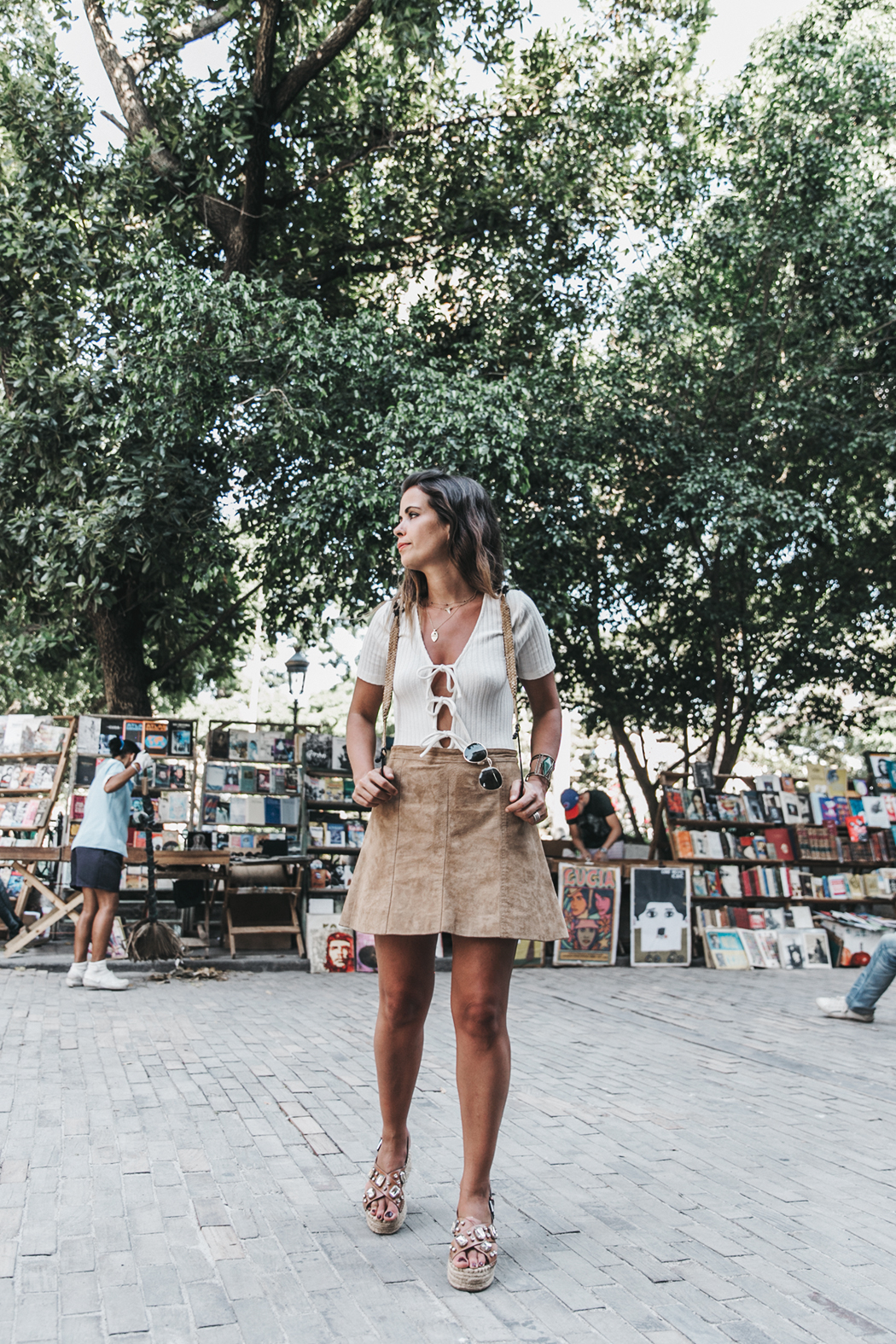 Cuba-Habana_Vieja-Suede_Skirt-Lace_UP_Body-Privacy_Please-Wedges-Outfit-Collage_Vintage-Travels-Street_Style-Backpack-46