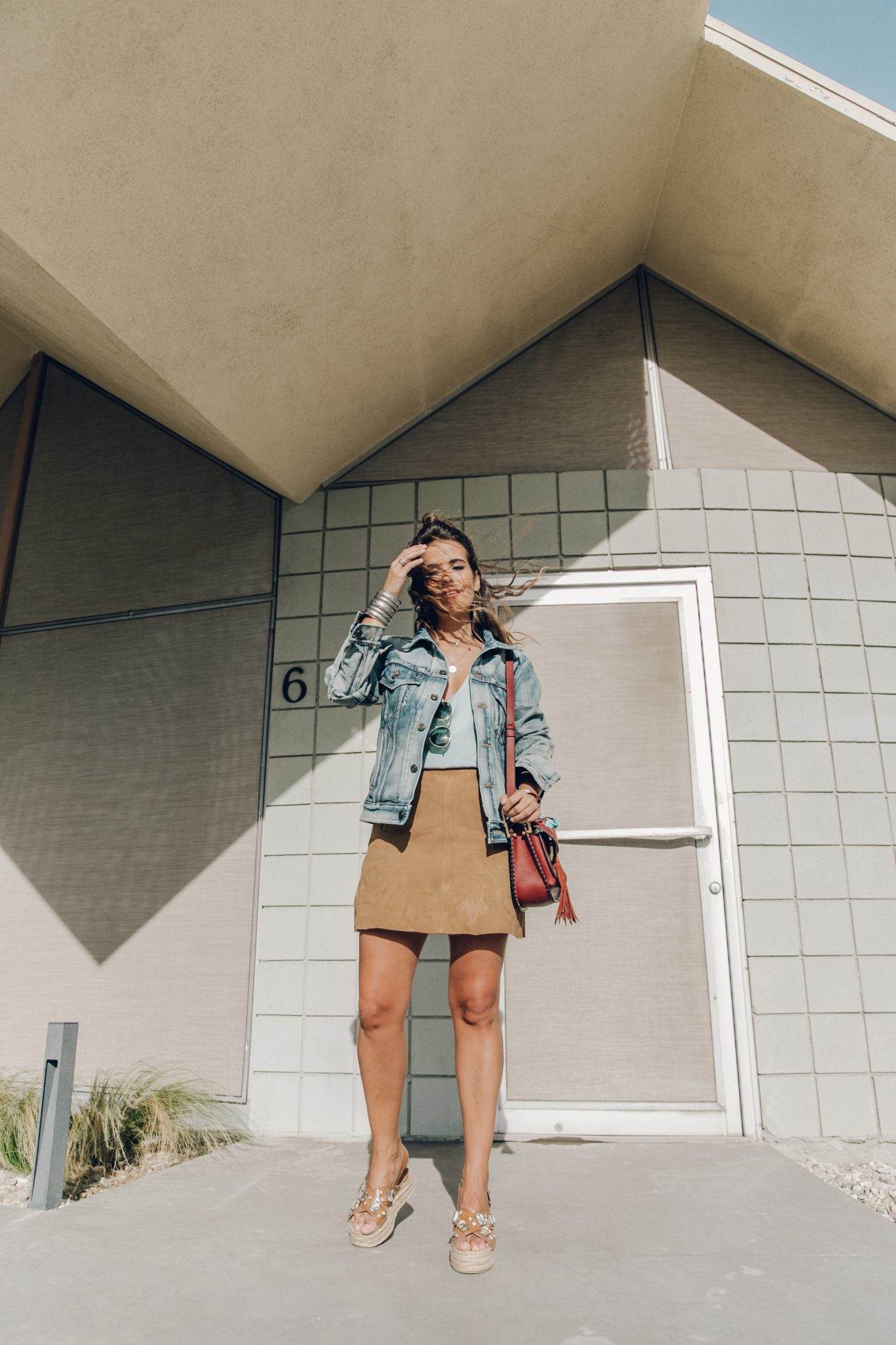 Denim_Jacket-Saint_Laurent-Chloe_Top-Suede_Skirt-Chloe_Hudson_Bag-Espadrilles-Coachella-Palm_Springs-Outfit-Collage_Vintage-15