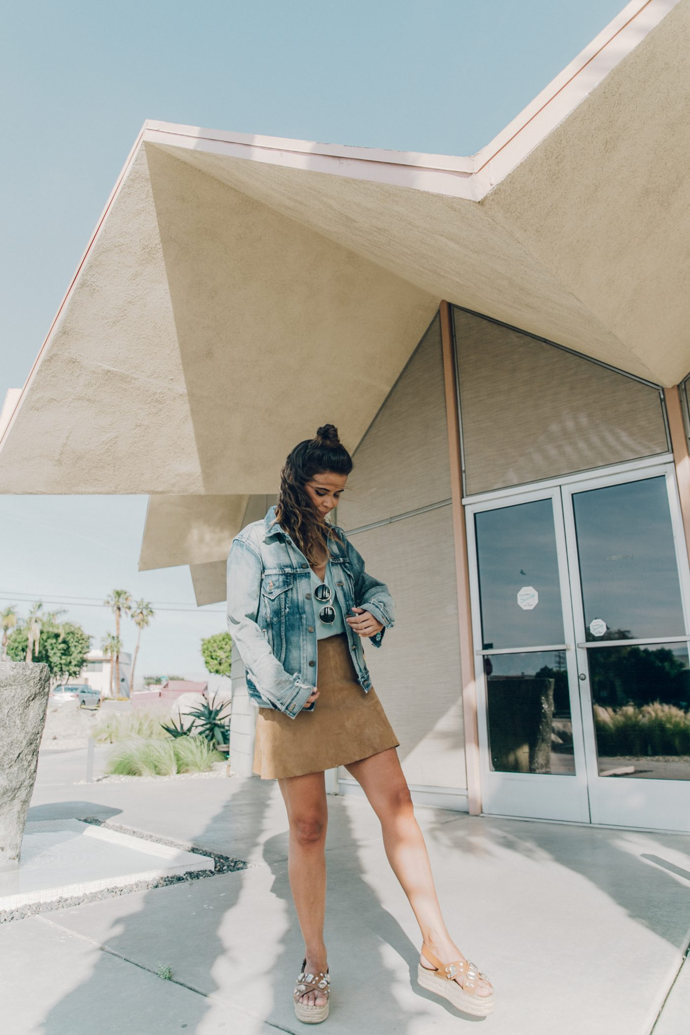 Denim_Jacket-Saint_Laurent-Chloe_Top-Suede_Skirt-Chloe_Hudson_Bag-Espadrilles-Coachella-Palm_Springs-Outfit-Collage_Vintage-9