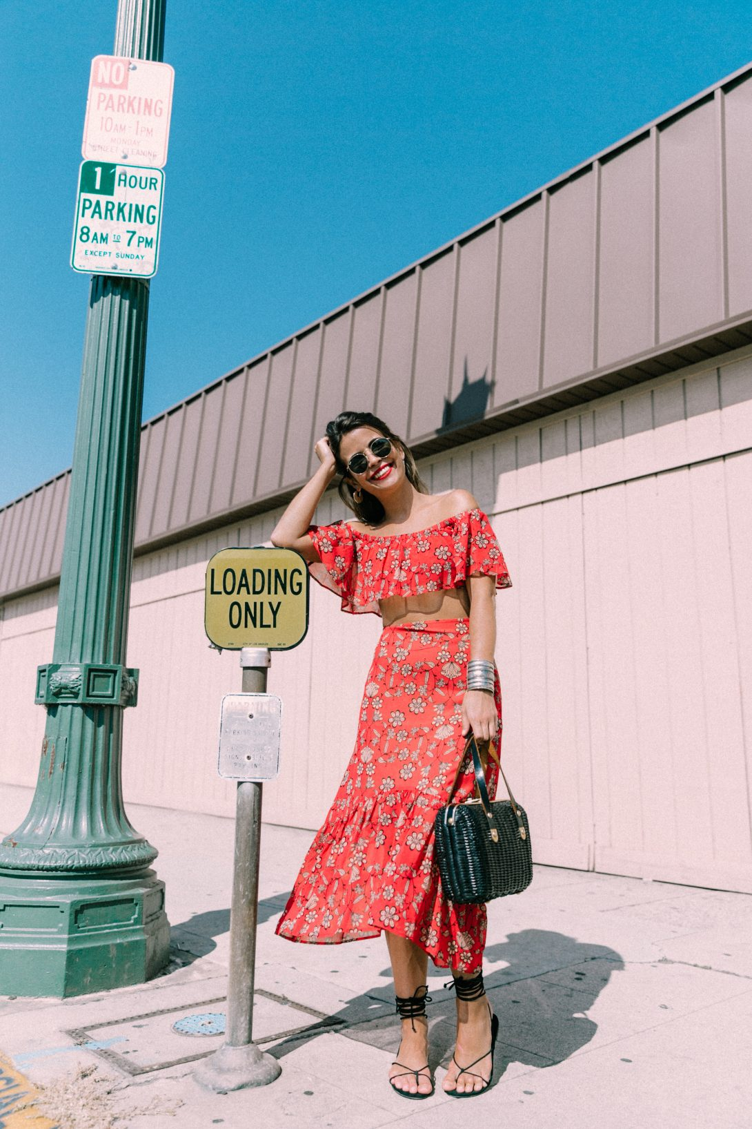 For_Love_And_Lemons-Raffia_Basket-Vintage-Cropped_Top-Midi_Skirt-Lace_Up_Sandals-Revolve_Clothing-Outfit-Collage_Vintage--16
