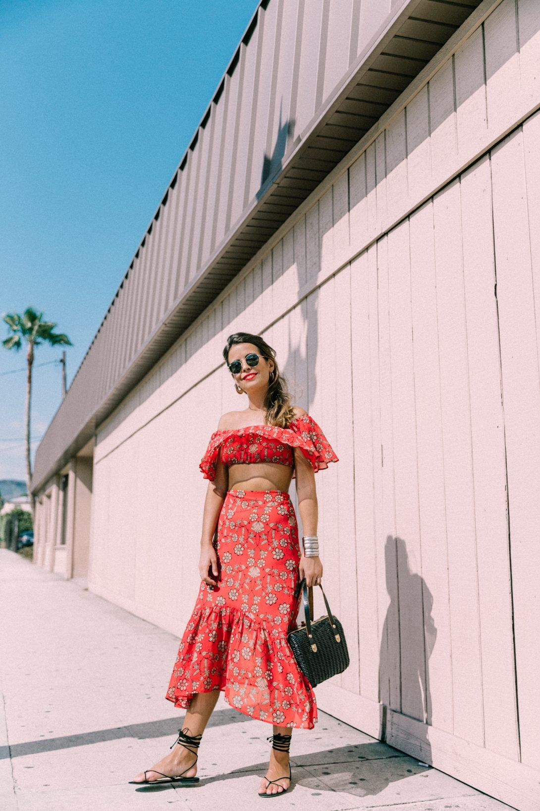 For_Love_And_Lemons-Raffia_Basket-Vintage-Cropped_Top-Midi_Skirt-Lace_Up_Sandals-Revolve_Clothing-Outfit-Collage_Vintage--22