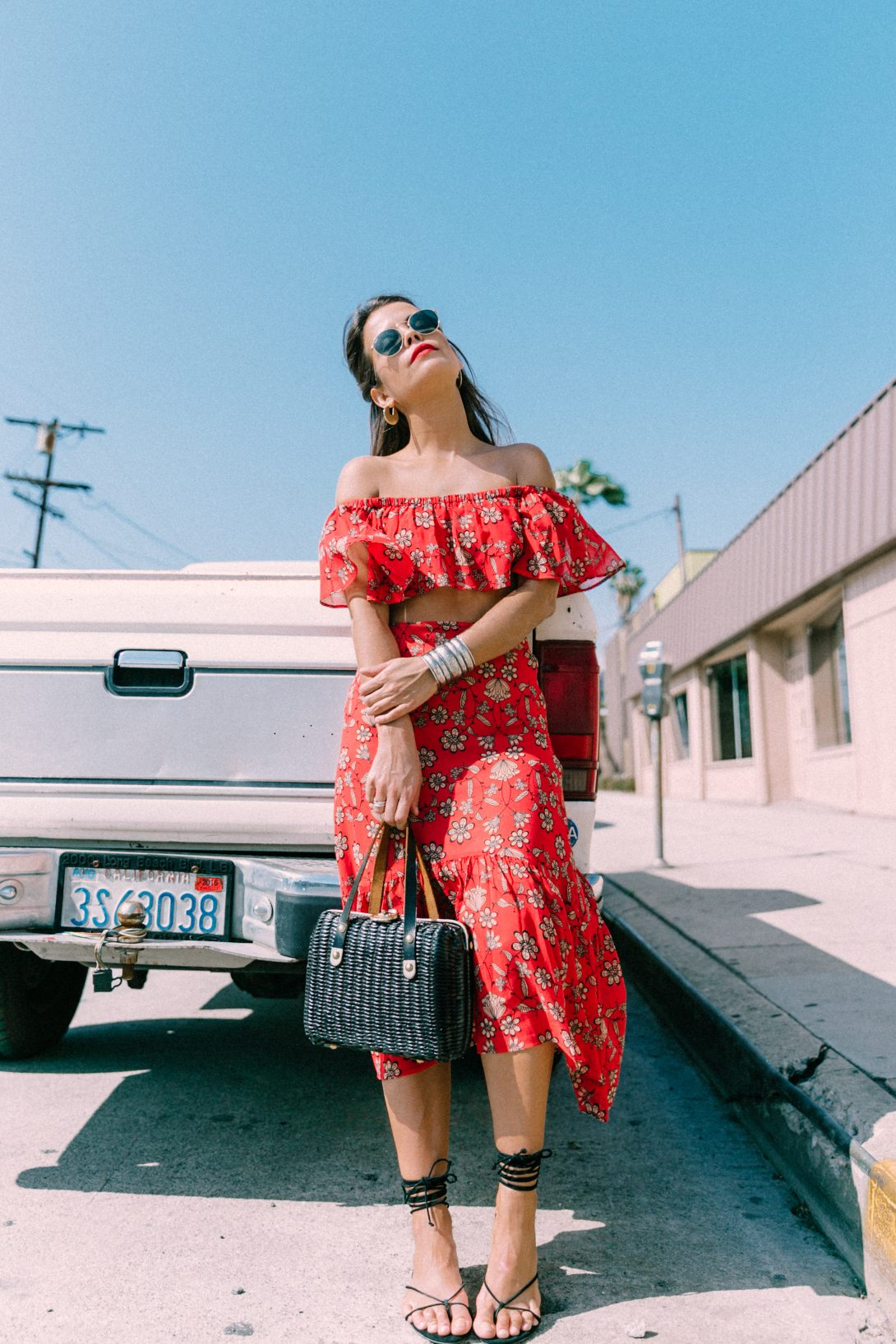 For_Love_And_Lemons-Raffia_Basket-Vintage-Cropped_Top-Midi_Skirt-Lace_Up_Sandals-Revolve_Clothing-Outfit-Collage_Vintage--29