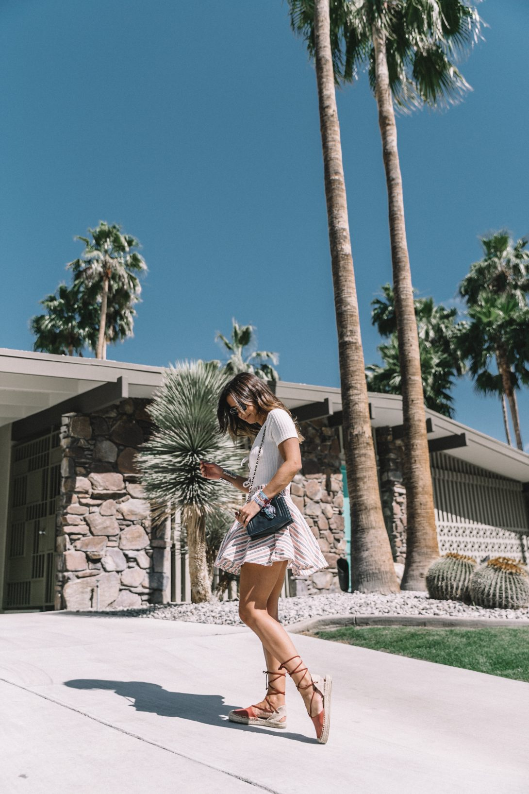 Lace_Up_Body-Privacy_Please-Revolve_Clothing-Striped_Mini_Skirt-Soludos_Espadrilles-Palm_Springs-Outfit-Collage_Vintage-80