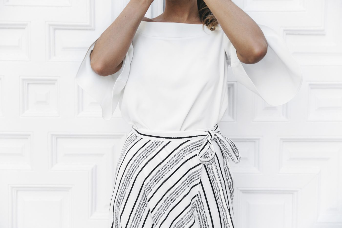 River_Island-El_Imparcial-Striped_SKirt-Off_Shoulders_Top-Lace_Up_Sandals-CHanel_Vintage_Bag-52