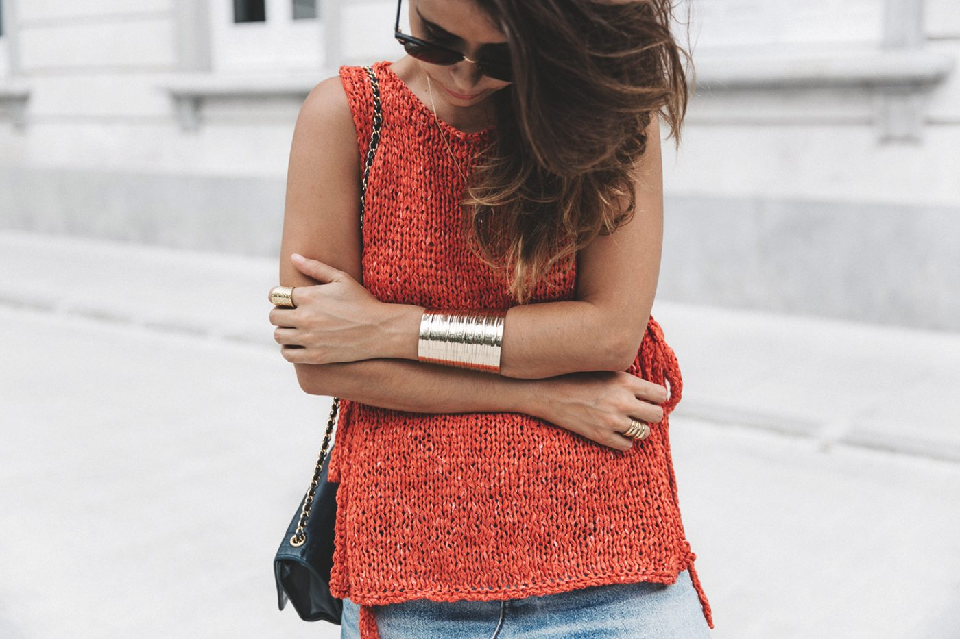 Summery_knit-Levis_Vintage_Skirt-Zalando_Espadrilles-Black_Sandals-Collage_Vintage_Horn_Necklace-Outfit-Street_Style-22