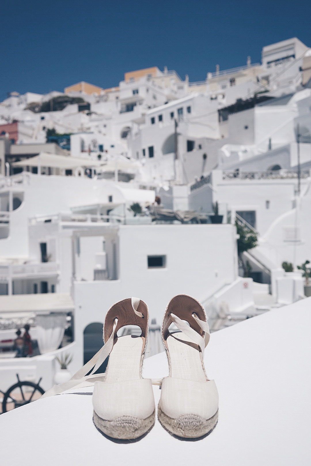 Blue_Dress-Soludos_Escapes-Soludos_Espadrilles-Canotier-Hat-Lack_Of_Color-Summer-Santorini-Collage_Vintage-110
