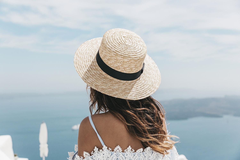 Blue_Dress-Soludos_Escapes-Soludos_Espadrilles-Canotier-Hat-Lack_Of_Color-Summer-Santorini-Collage_Vintage-66