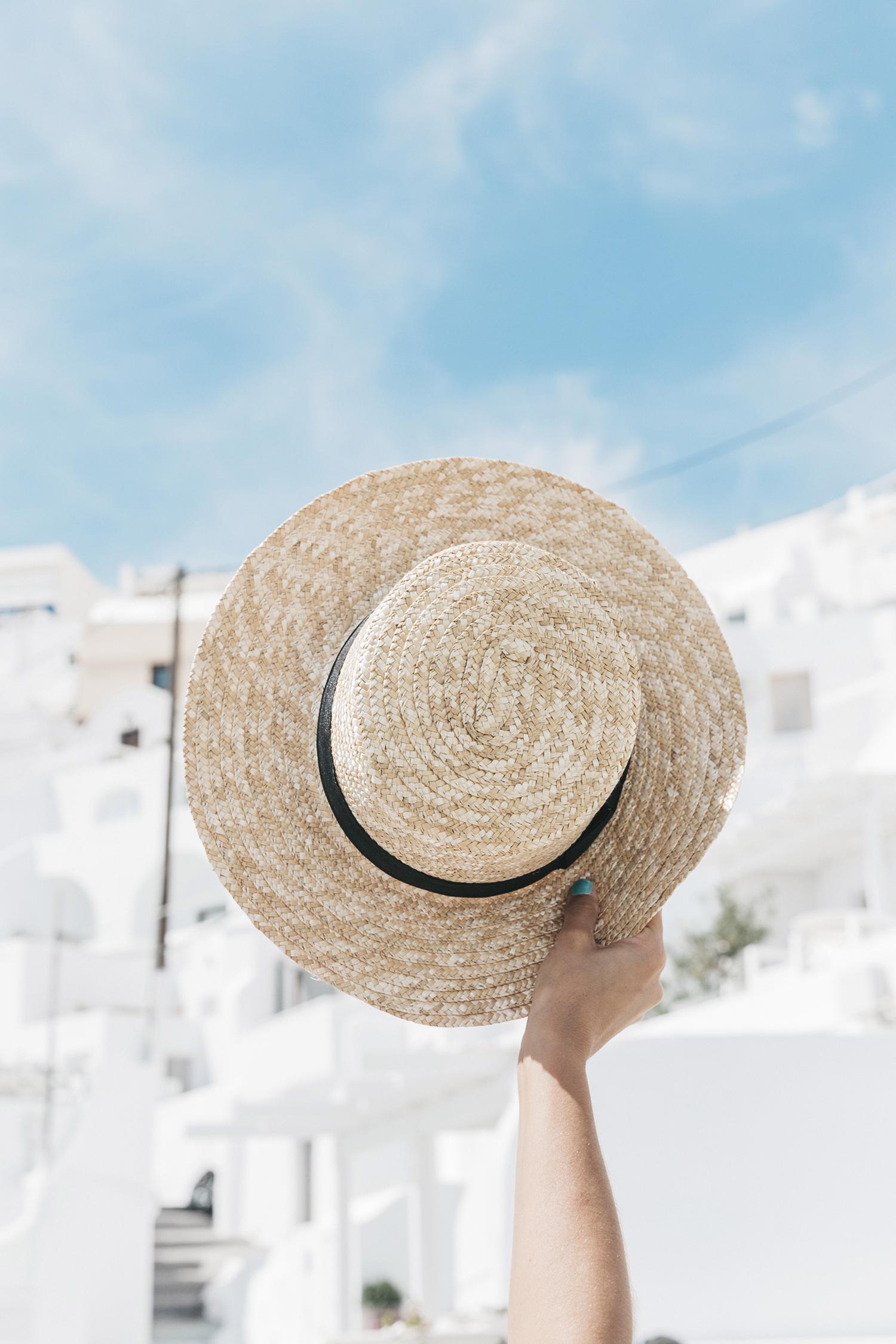 Blue_Dress-Soludos_Escapes-Soludos_Espadrilles-Canotier-Hat-Lack_Of_Color-Summer-Santorini-Collage_Vintage-80