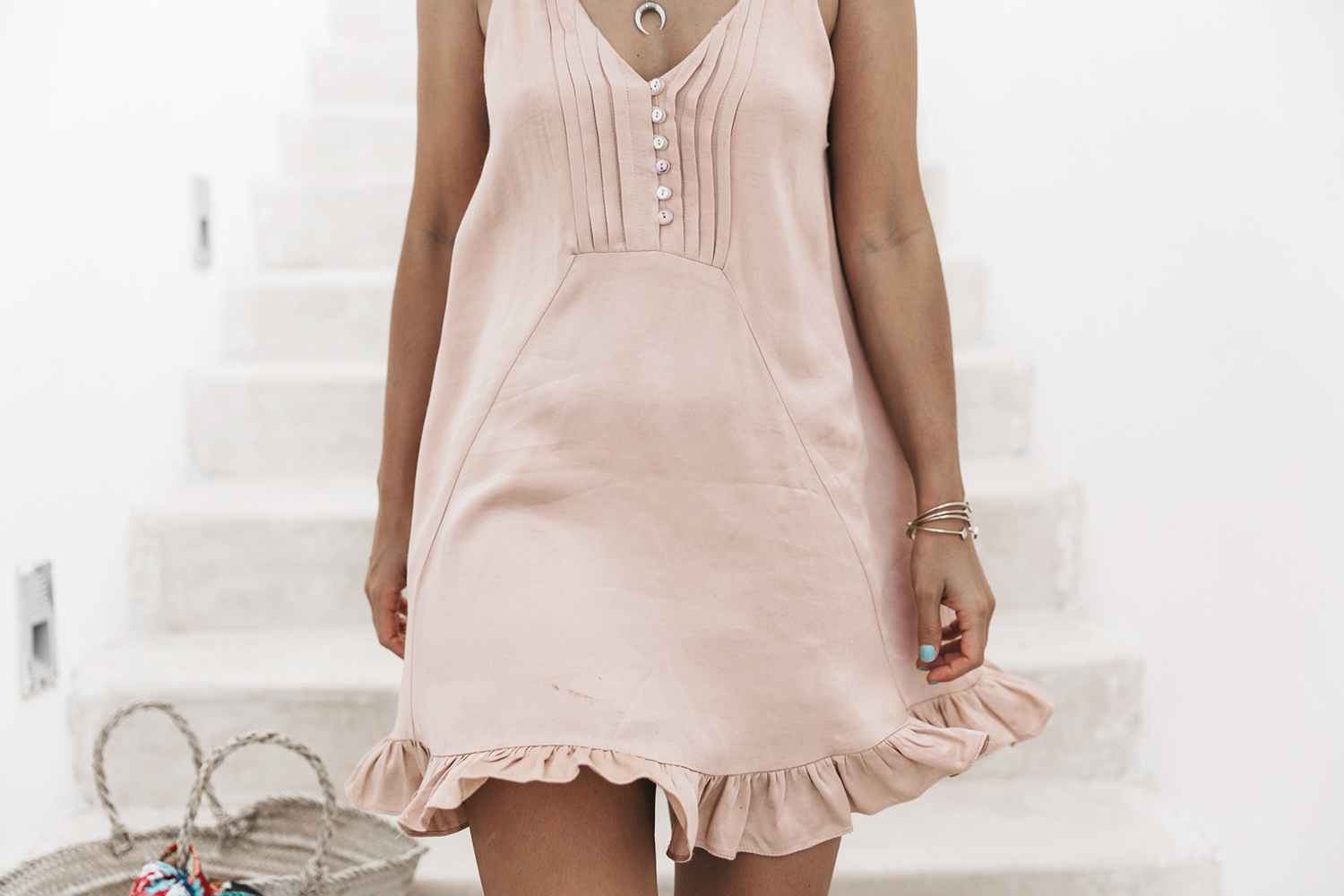 Soludos-Soludos_Escapes-Light_Pink_Dress-Knotted_Sandals-Mykonos-Greece-Collage_Vintage-Summer_Outfit-Street_Style-37