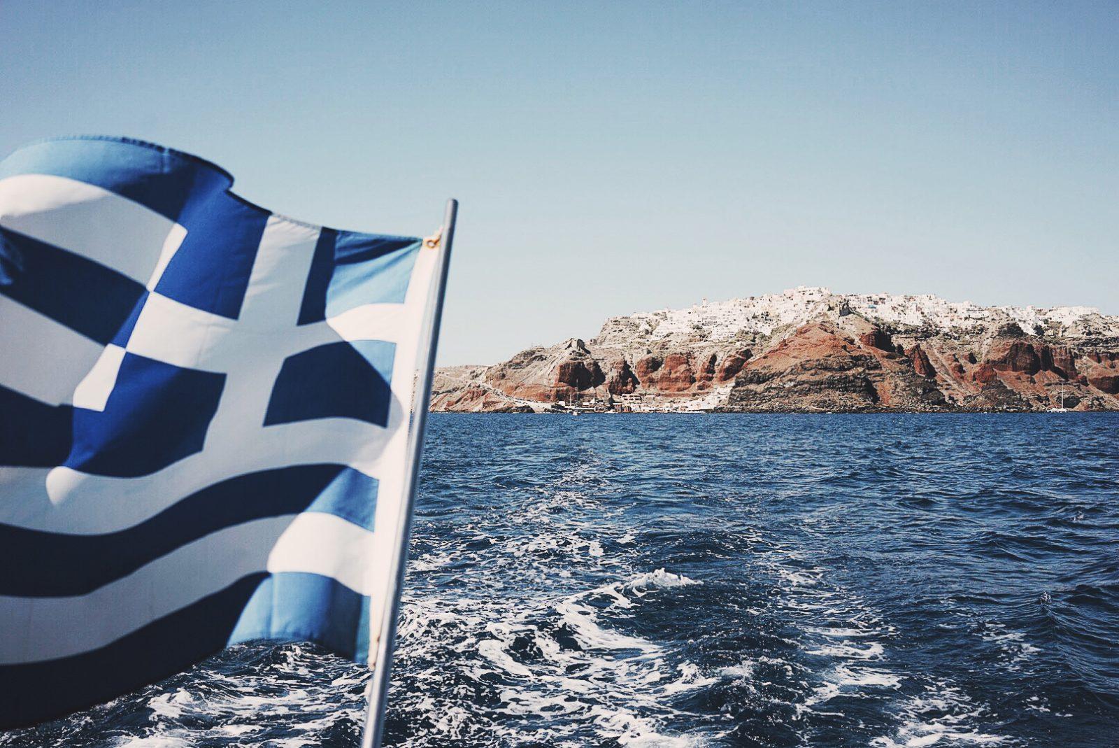 Soludos_Escapes-Boat_Trip-Bikini-Summer_Look-Santorini_Greece-GRLFRND_Jeans-Off_The_Shoulders-Collage_Vintage-Street_Style-Soludos_Espadrilles-27