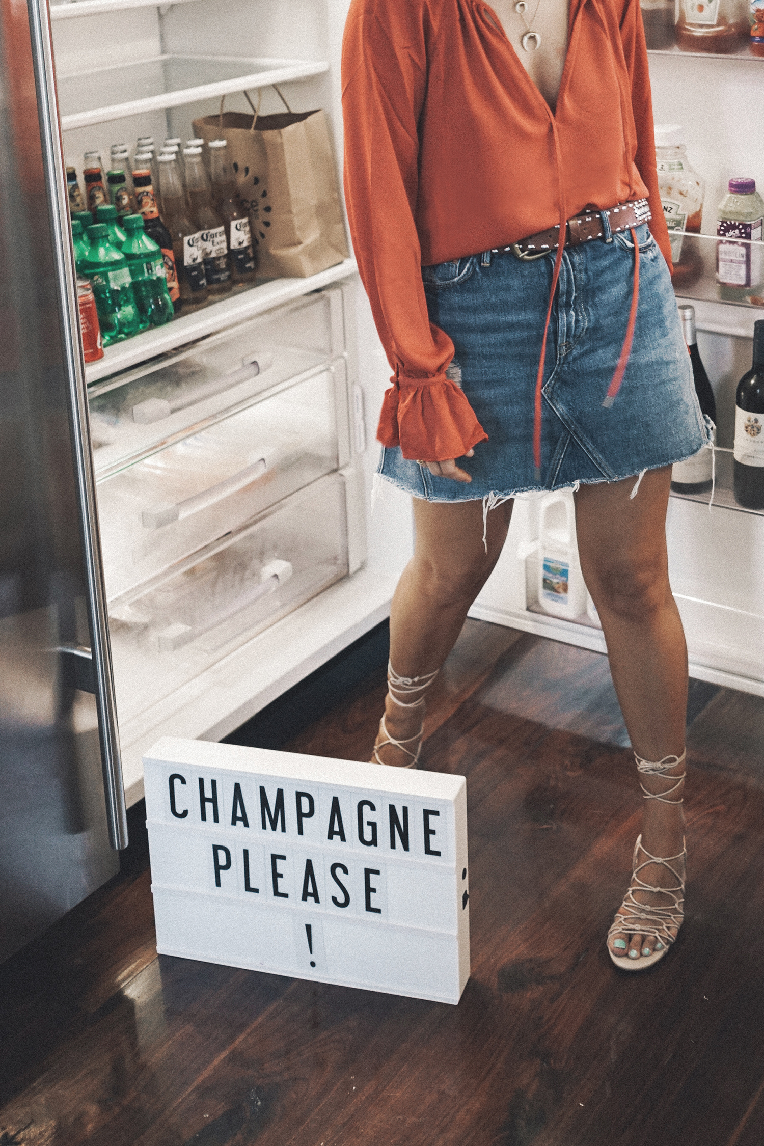 GRLFRND_Revolve_in_The_Hamptons-Denim_Skirt-Outfit-Collage_Vintage-13