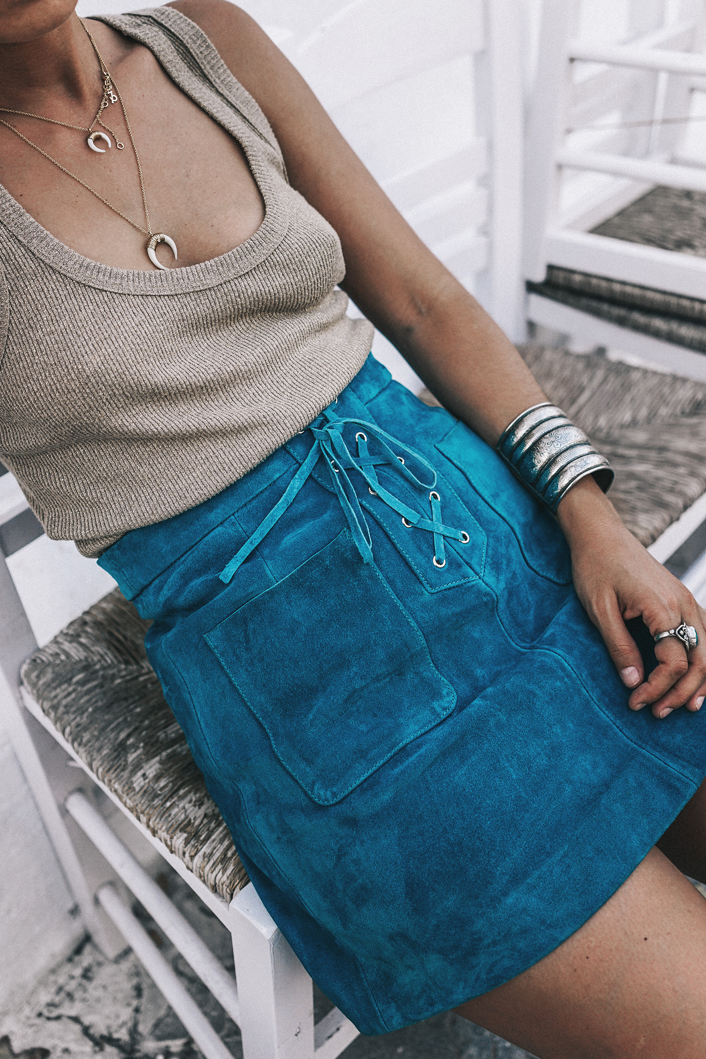 Gold_Top-Metallic_Trend-Suede_Skirt-Turquoise_Skirt-Soludos_Espadrilles-Soludos_Escapes-Mykonos-Greece-Collage_Vintage-Street_Style-144