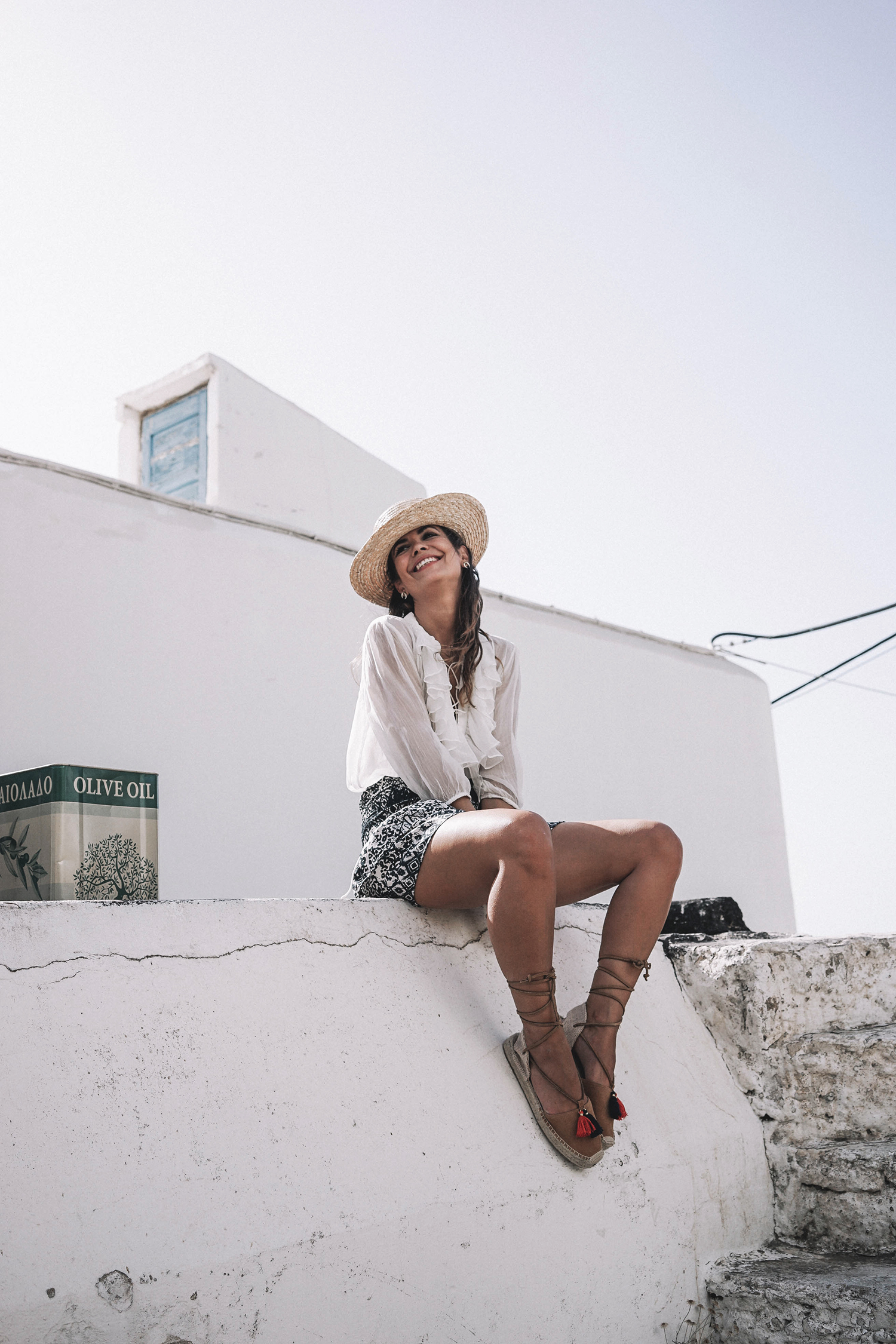 Lace_up_Blouse-Ralph_Lauren-Soludos_Espadrilles-Soludos_Escapes-Skirt-Straw_Hat-Canotier-Lack_Of_Color-Street_Style-Mykonos-Greece-Collage_Vintage-133