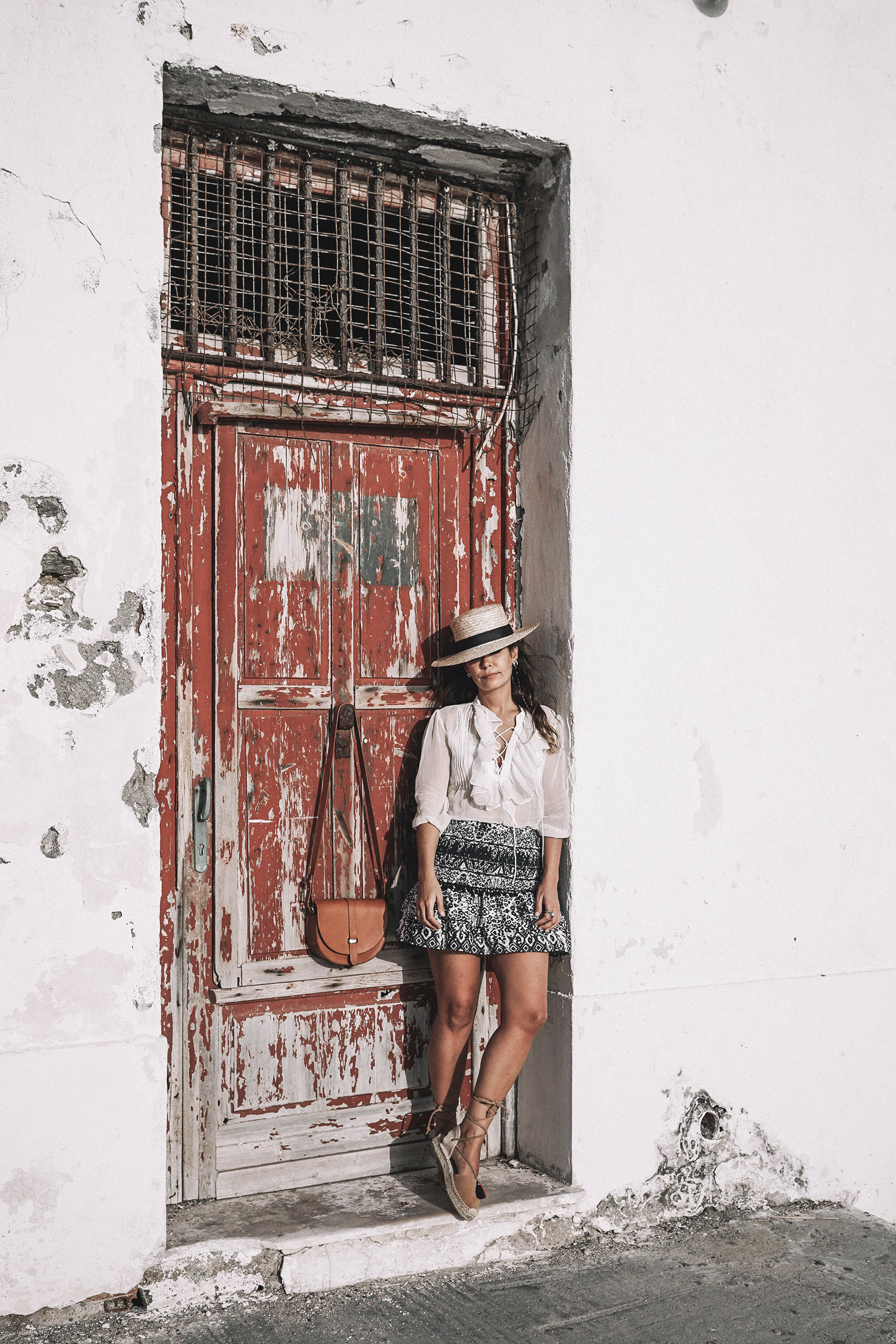 Lace_up_Blouse-Ralph_Lauren-Soludos_Espadrilles-Soludos_Escapes-Skirt-Straw_Hat-Canotier-Lack_Of_Color-Street_Style-Mykonos-Greece-Collage_Vintage-166