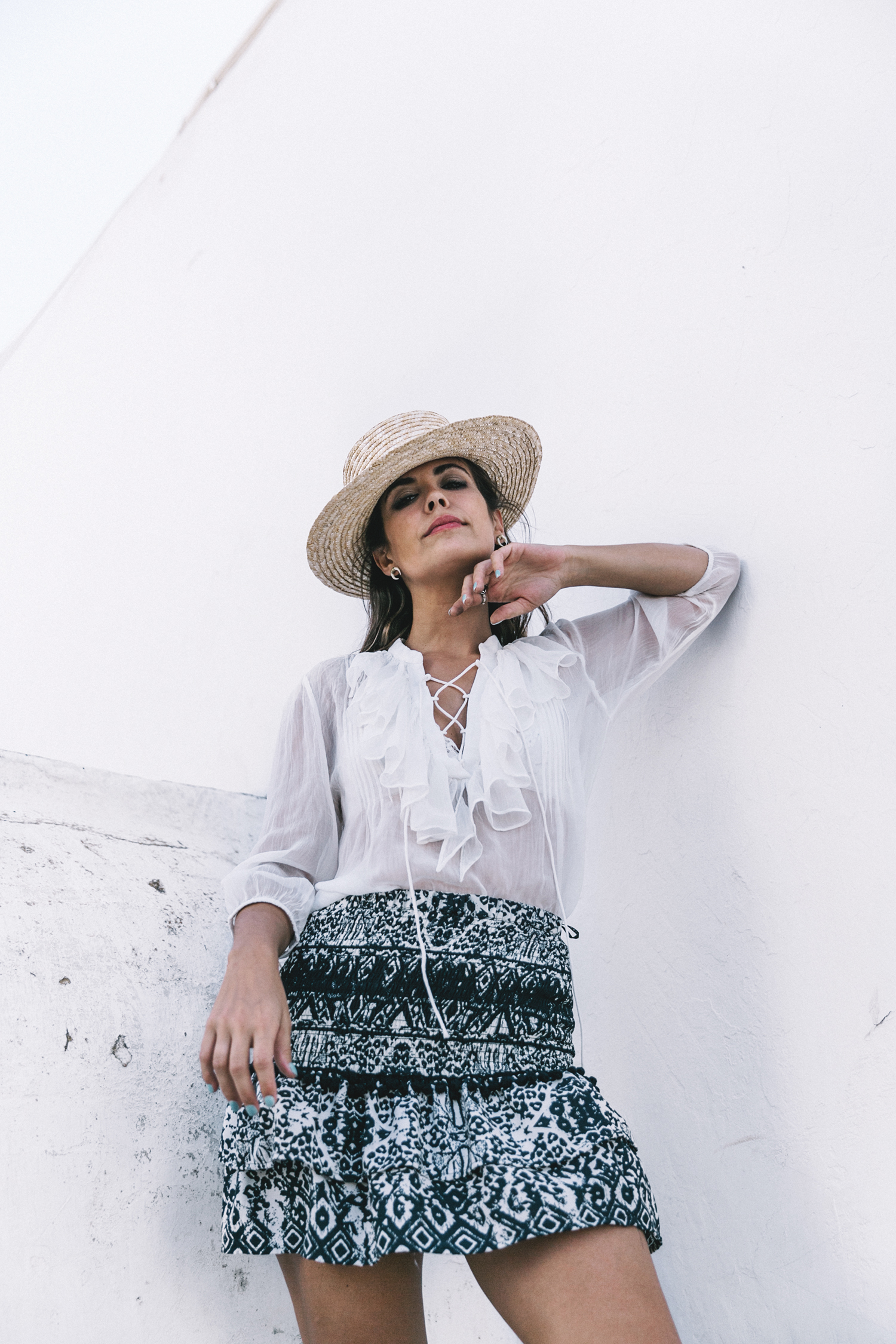 Lace_up_Blouse-Ralph_Lauren-Soludos_Espadrilles-Soludos_Escapes-Skirt-Straw_Hat-Canotier-Lack_Of_Color-Street_Style-Mykonos-Greece-Collage_Vintage-49