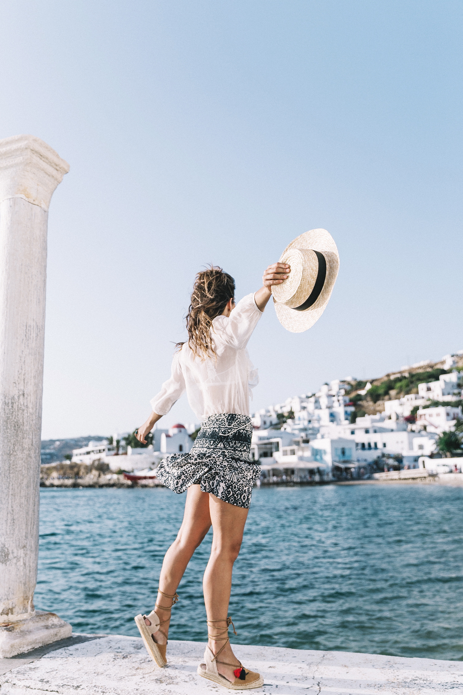 Lace_up_Blouse-Ralph_Lauren-Soludos_Espadrilles-Soludos_Escapes-Skirt-Straw_Hat-Canotier-Lack_Of_Color-Street_Style-Mykonos-Greece-Collage_Vintage-87