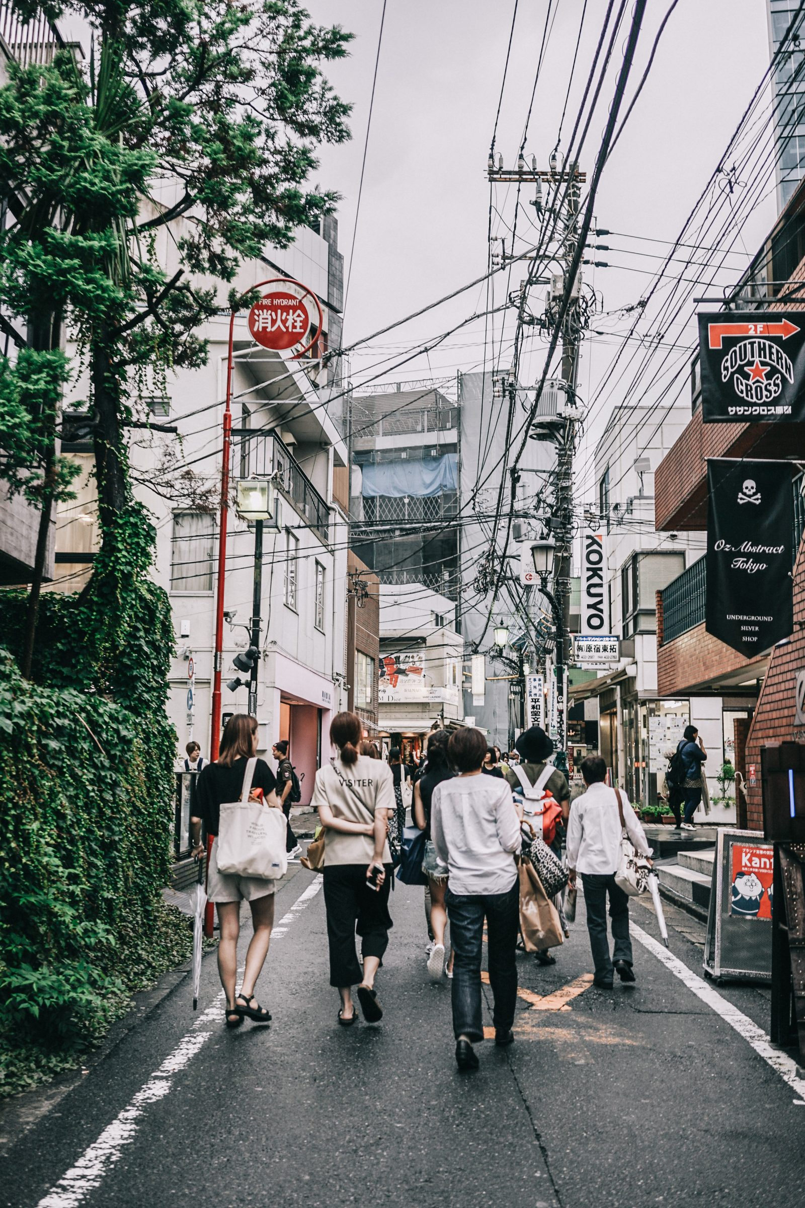 Tokyo_Travel_Guide-Fish_Market-Harajuku-Levis_Denim_Skirt-Off_The_Shoulders_Top-YSL_Sneakers-Outfit-Collage_Vintage-Street_Style-175