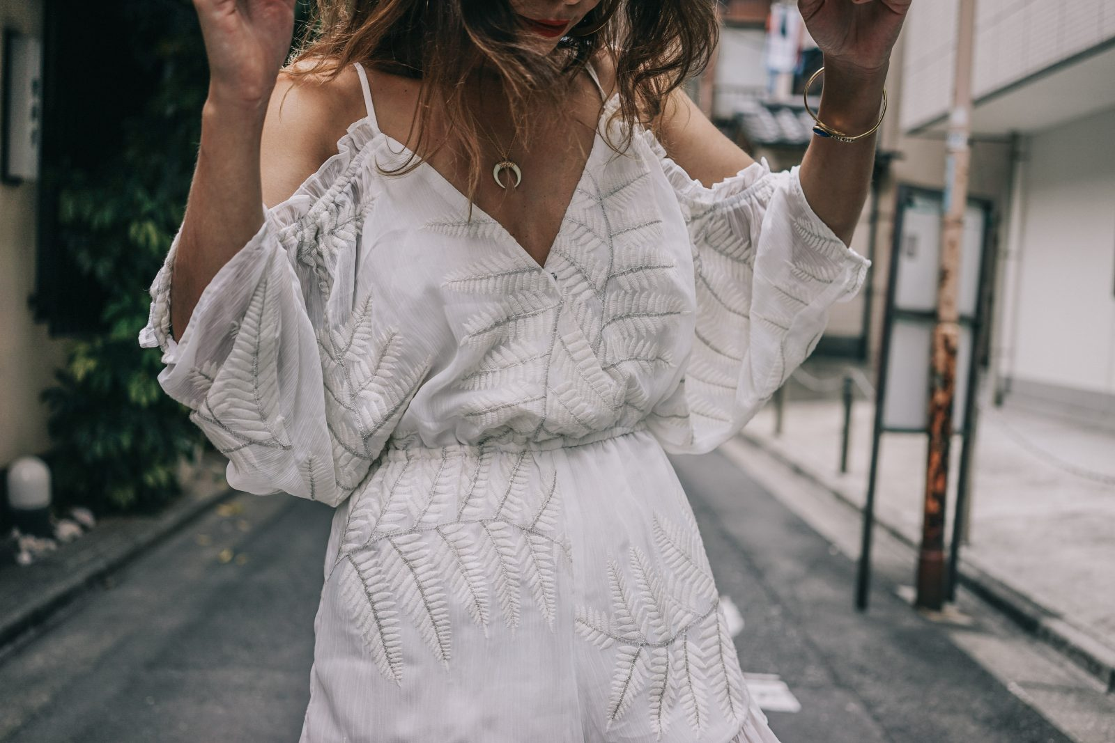 tokyo_travel_guide-outfit-collage_vintage-street_style-lovers_and_friends_jumpsuit-white_outfit-espadrilles-backpack-levis_denim_jacket-akihabara-69