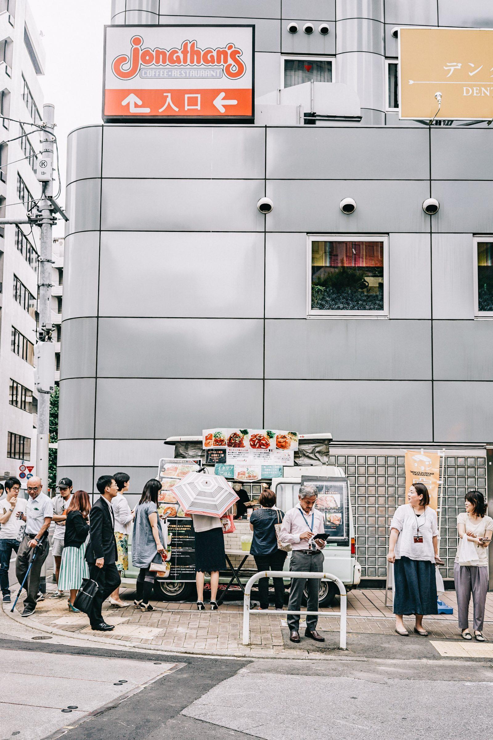 tokyo_travel_guide-outfit-collage_vintage-street_style-off_the_shoulders_dress-mustard_dress-soludos_sandals-chanel_vintage-bag-vintage_stores-2