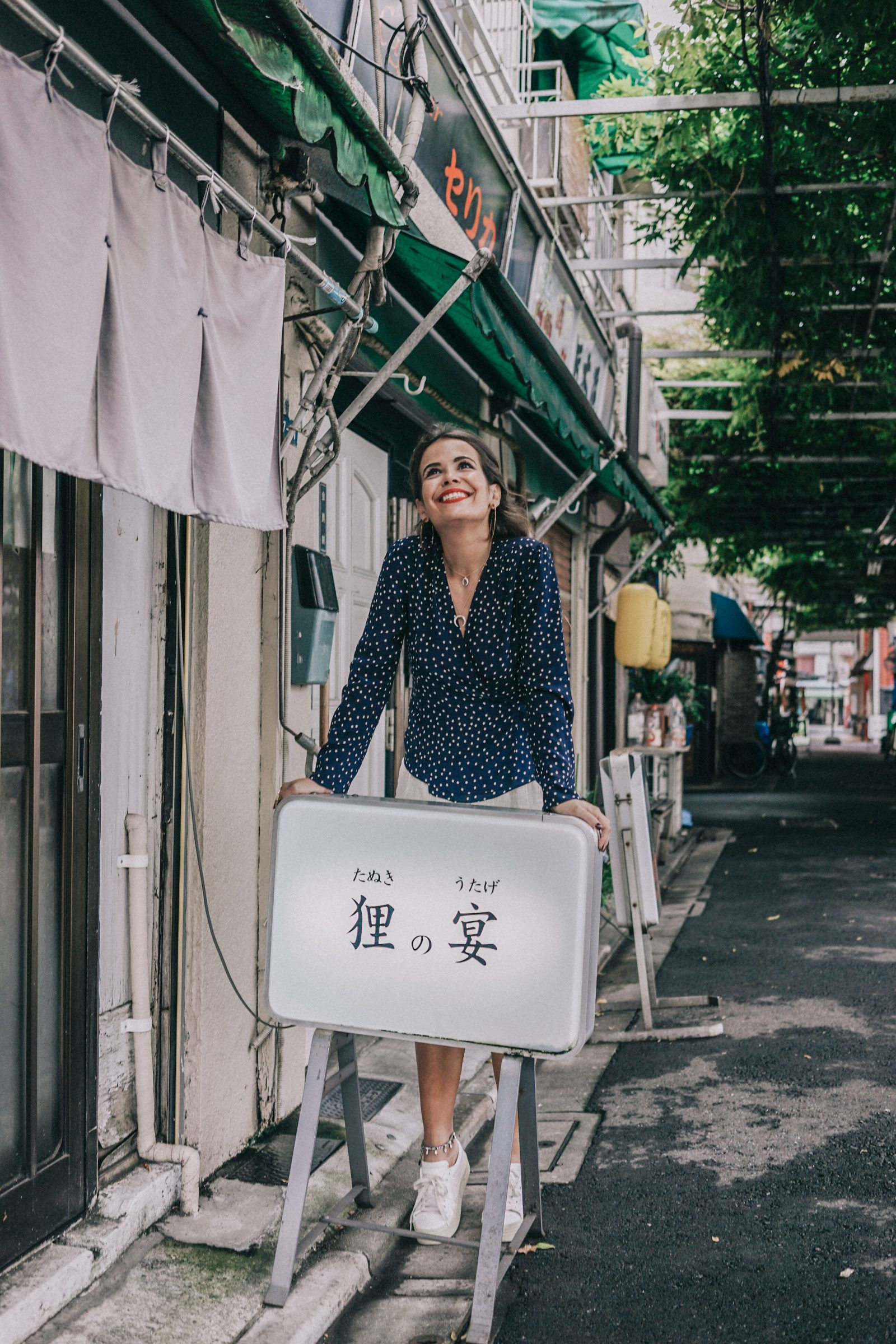 Tokyo_Travel_Guide-Outfit-Collage_Vintage-Street_Style-Reformation_Shorts-Realisation_Par_Stars_Blouse-Sneakers-Flea_Market_Backpack-86