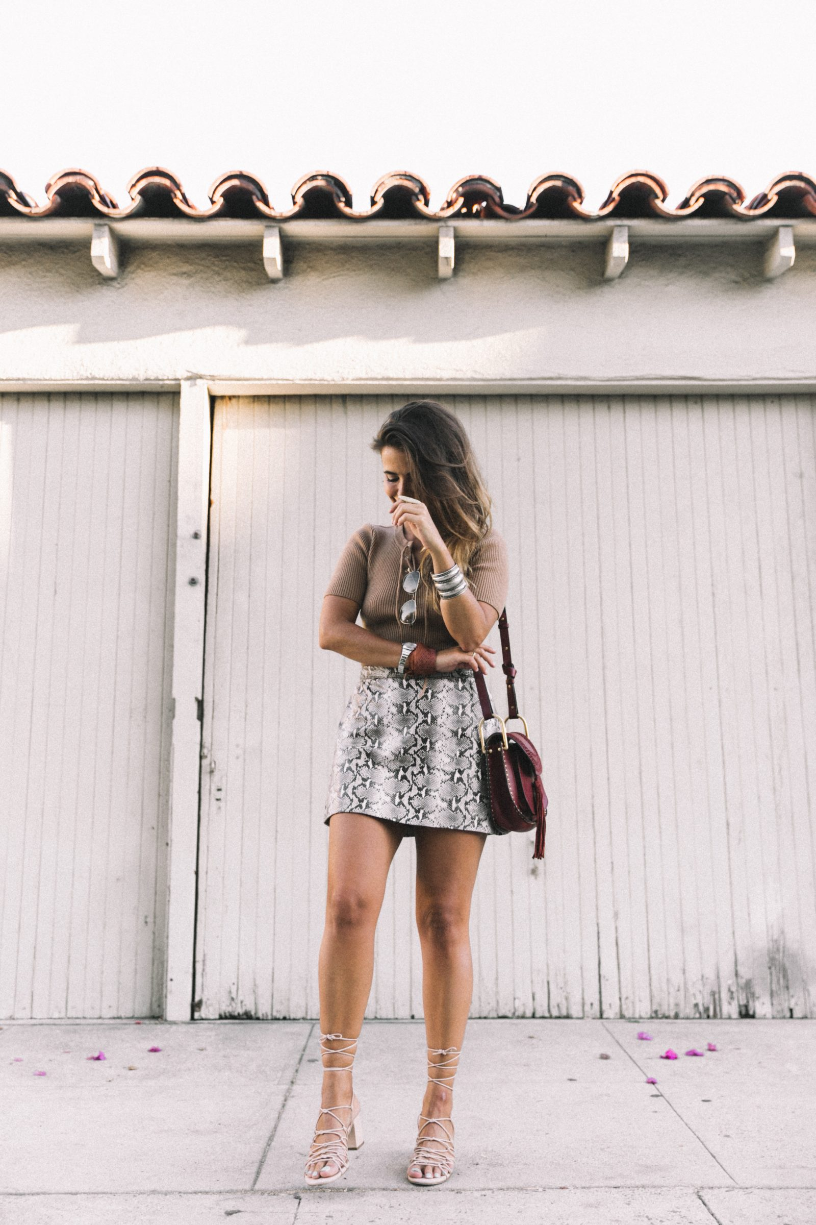 lpa_the_label-revolve_clothing-snake_skirt-lace_up_sweater-knotted_sandals-chloe_hudson_bag-outfit-street_style-los_angeles-21