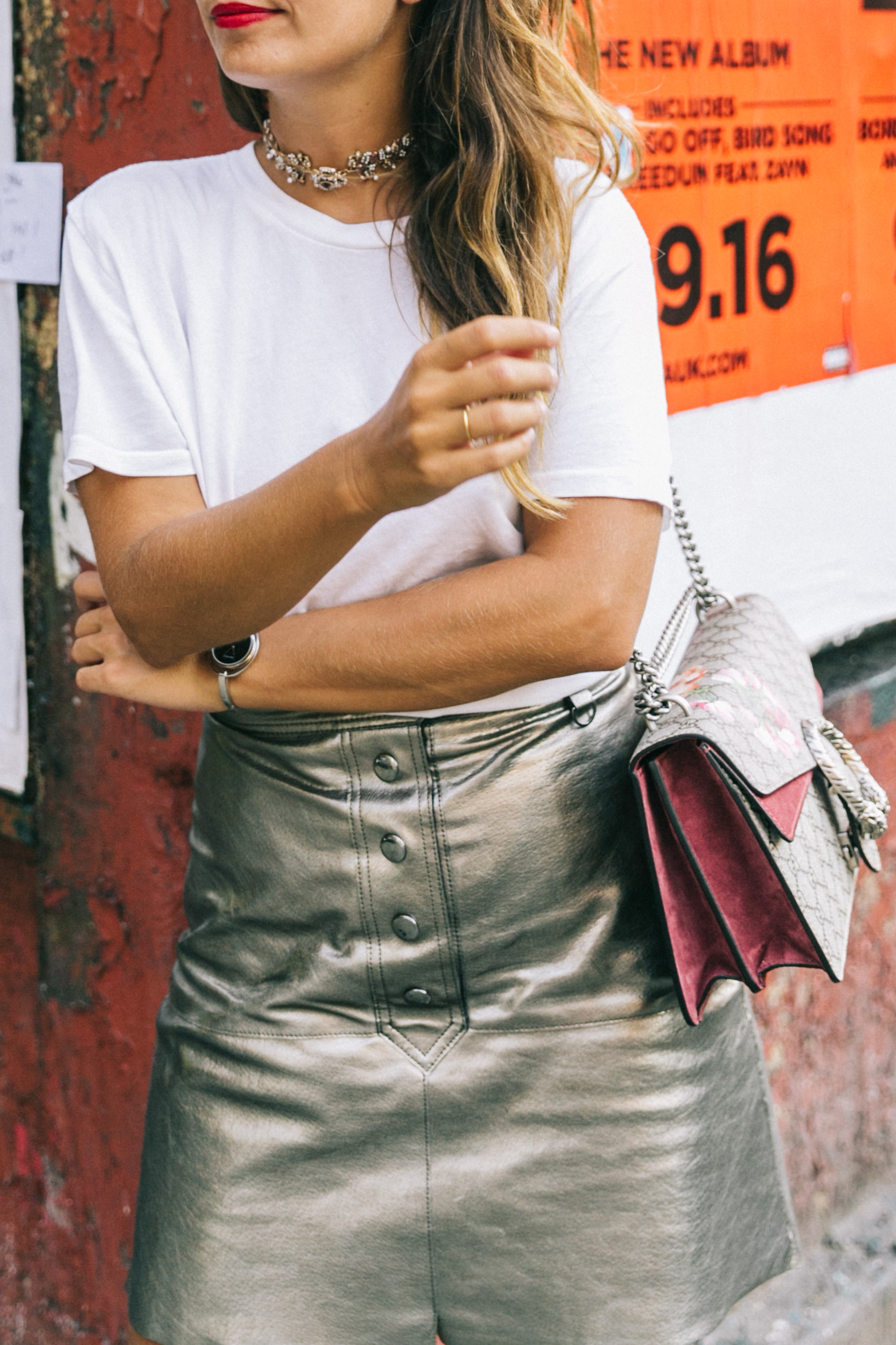 nyfw-new_york_fashion_week_ss17-street_style-outfit-collage_vintage-metallic_leather_skirt-gucci_bag-soludos_espadriles-52