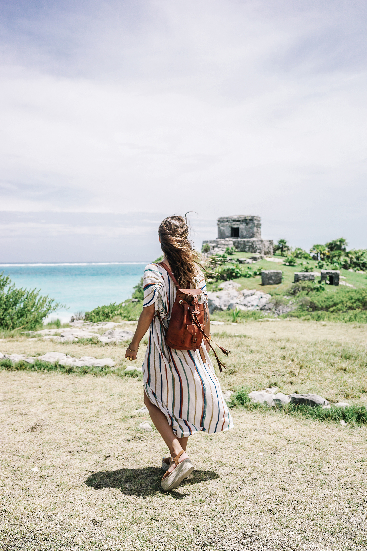 stripped_dress-leather_backpack-suede_espadrilles-mayan_ruins-hotel_esencia-sanara_tulum-beach-mexico-outfit-collage_vintage-32