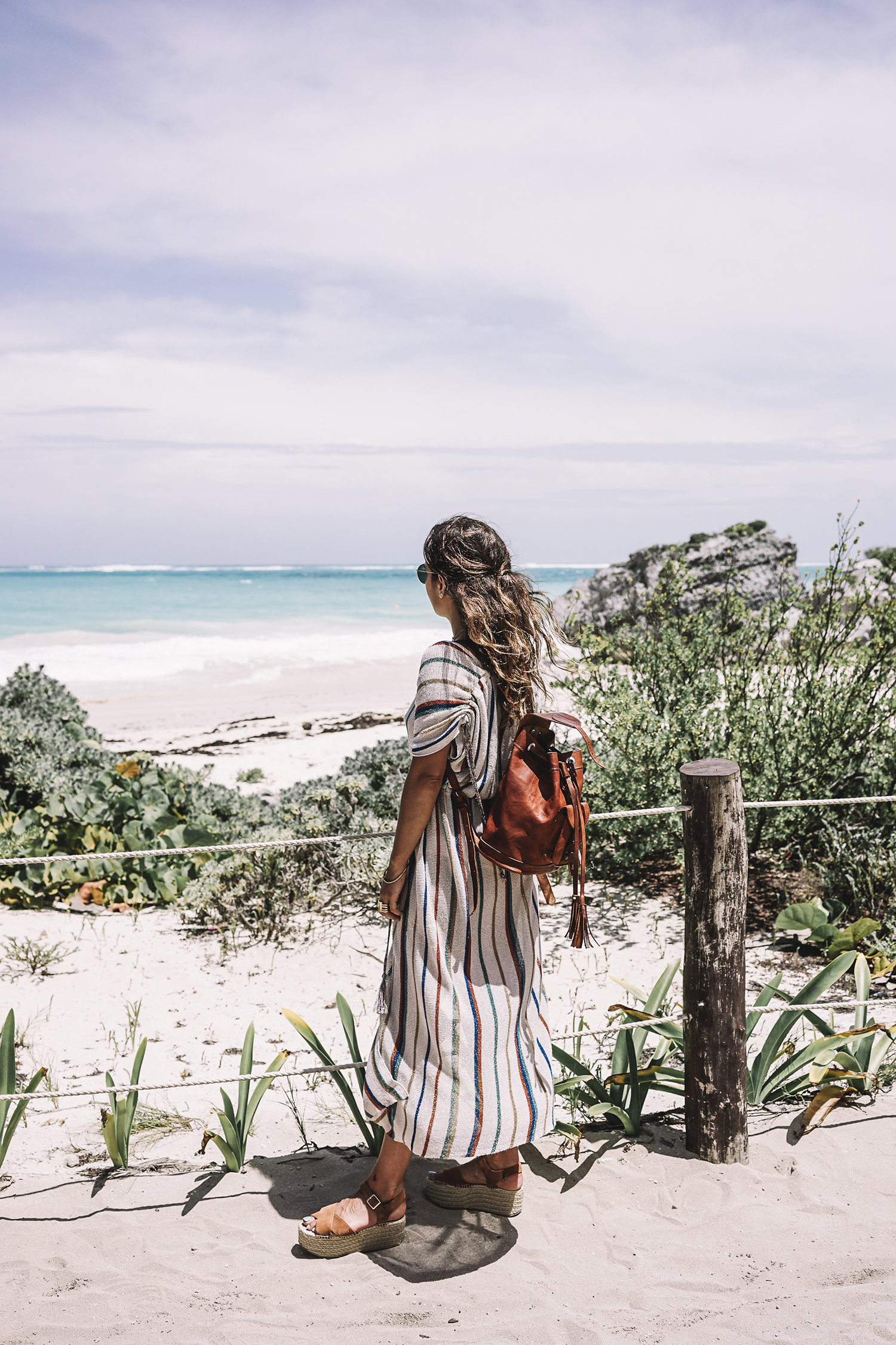 stripped_dress-leather_backpack-suede_espadrilles-mayan_ruins-hotel_esencia-sanara_tulum-beach-mexico-outfit-collage_vintage-49